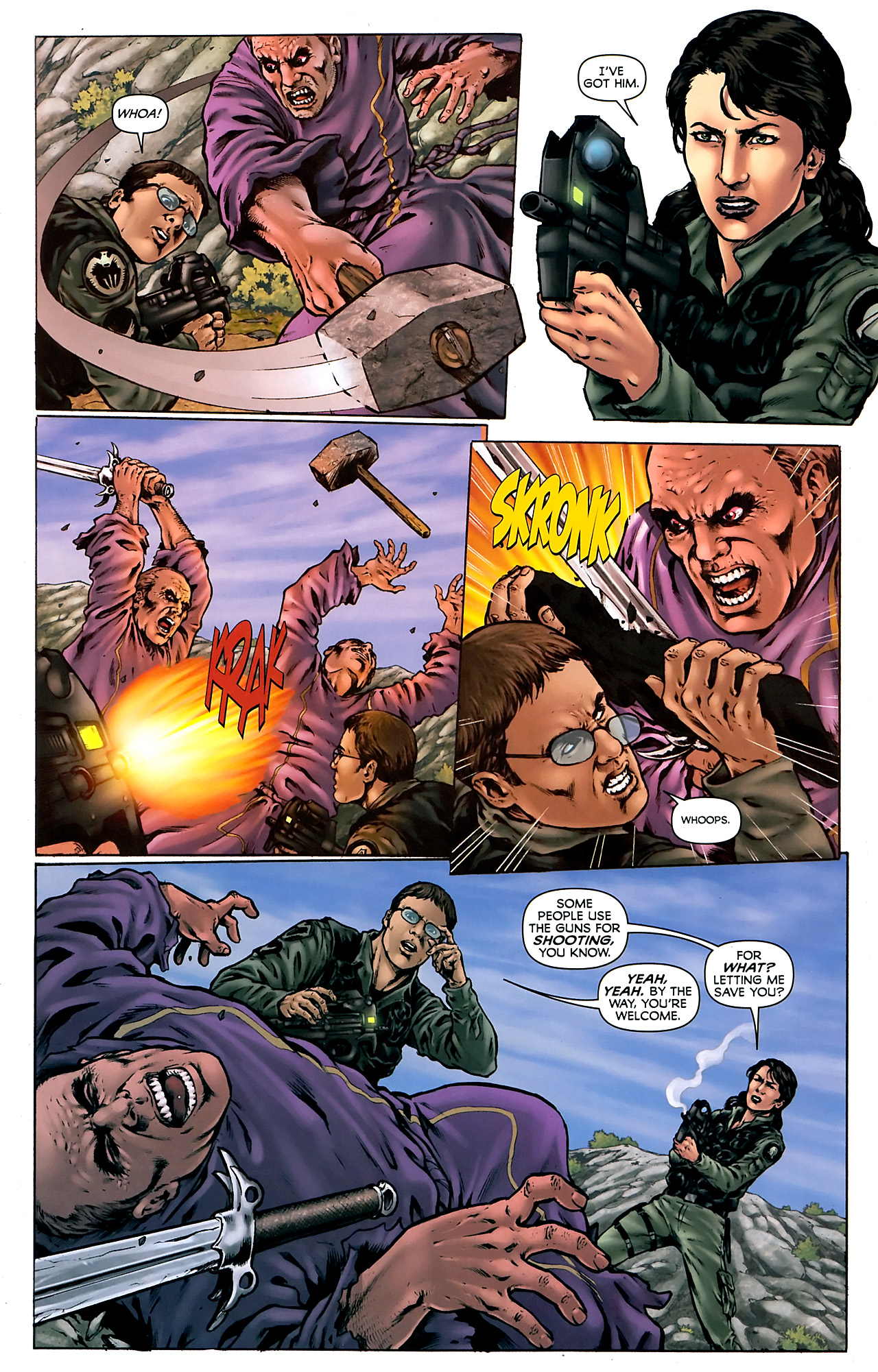 Read online Stargate Vala Mal Doran comic -  Issue #4 - 5