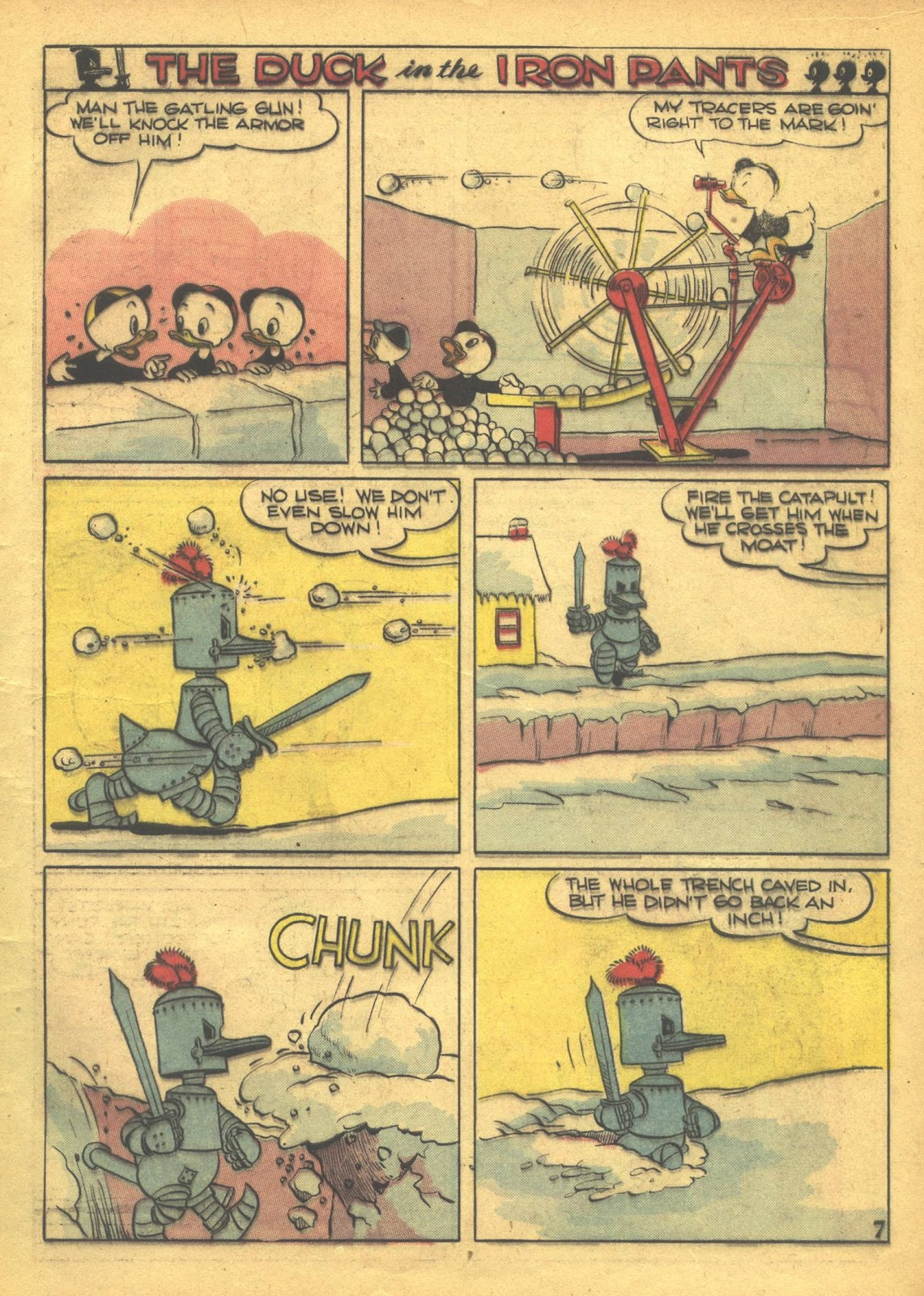 Walt Disney's Comics and Stories issue 41 - Page 9