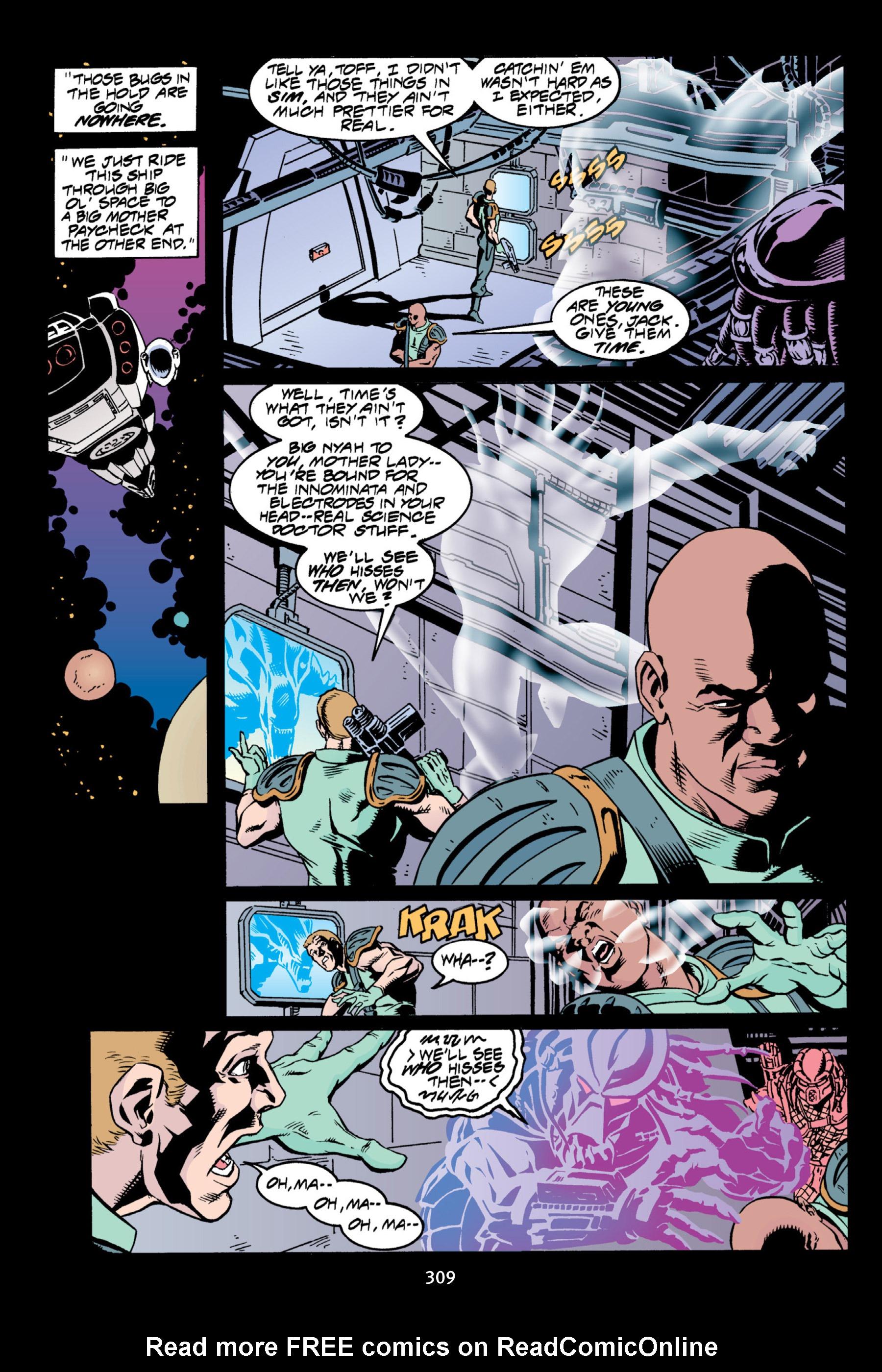 Read online Aliens vs. Predator Omnibus comic -  Issue # _TPB 2 Part 3 - 84