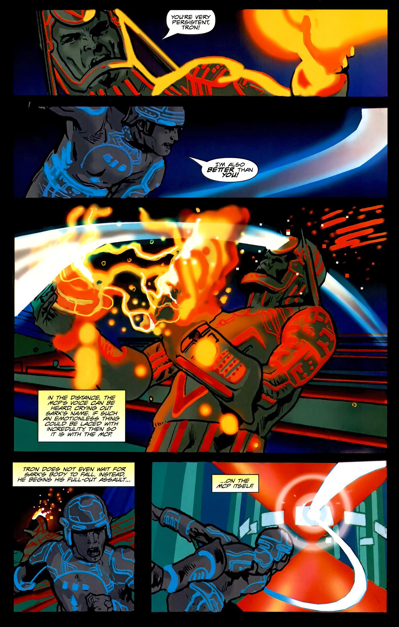 Read online TRON: Original Movie Adaptation comic -  Issue #2 - 29
