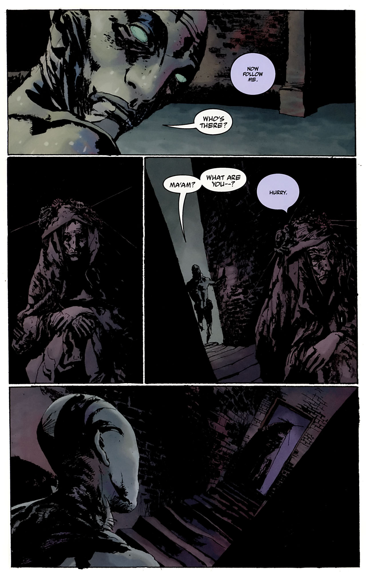Read online Abe Sapien: The Drowning comic -  Issue #3 - 22