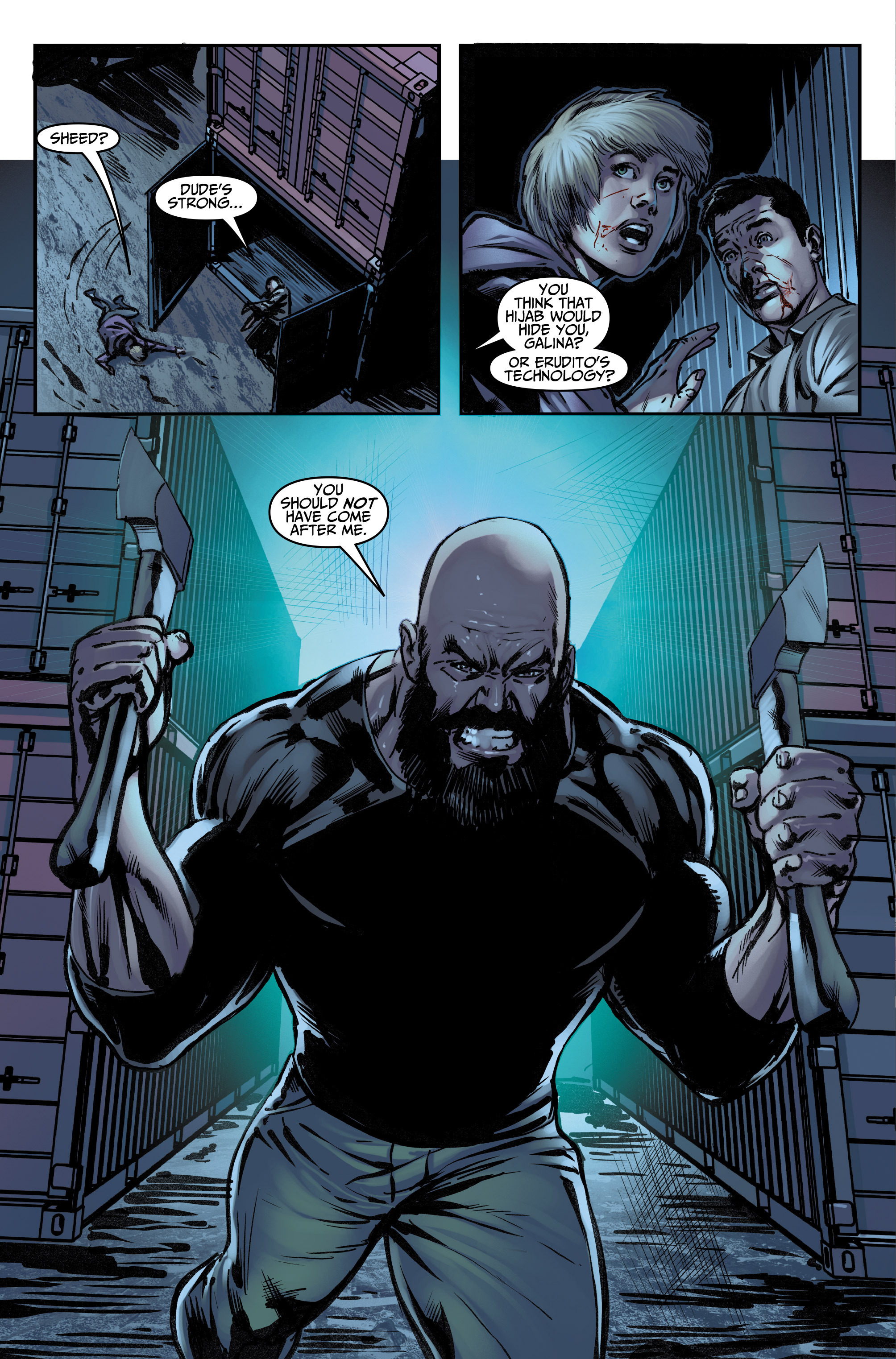 Read online Assassin's Creed (2015) comic -  Issue #12 - 14