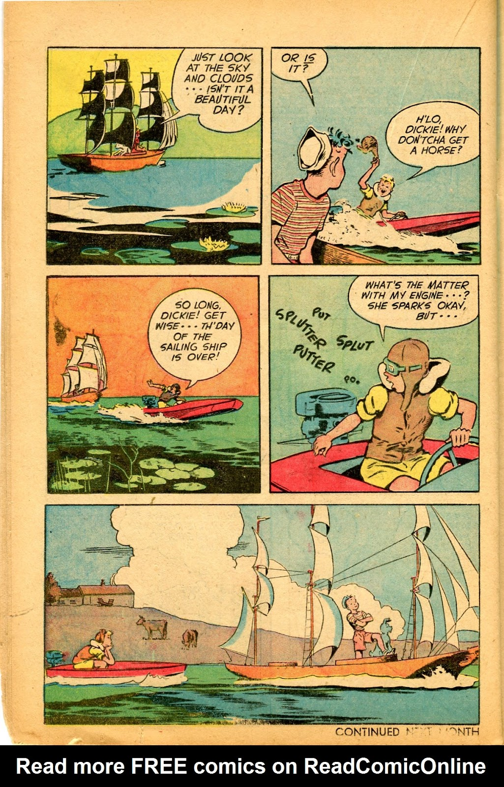 Read online Famous Funnies comic -  Issue #159 - 34