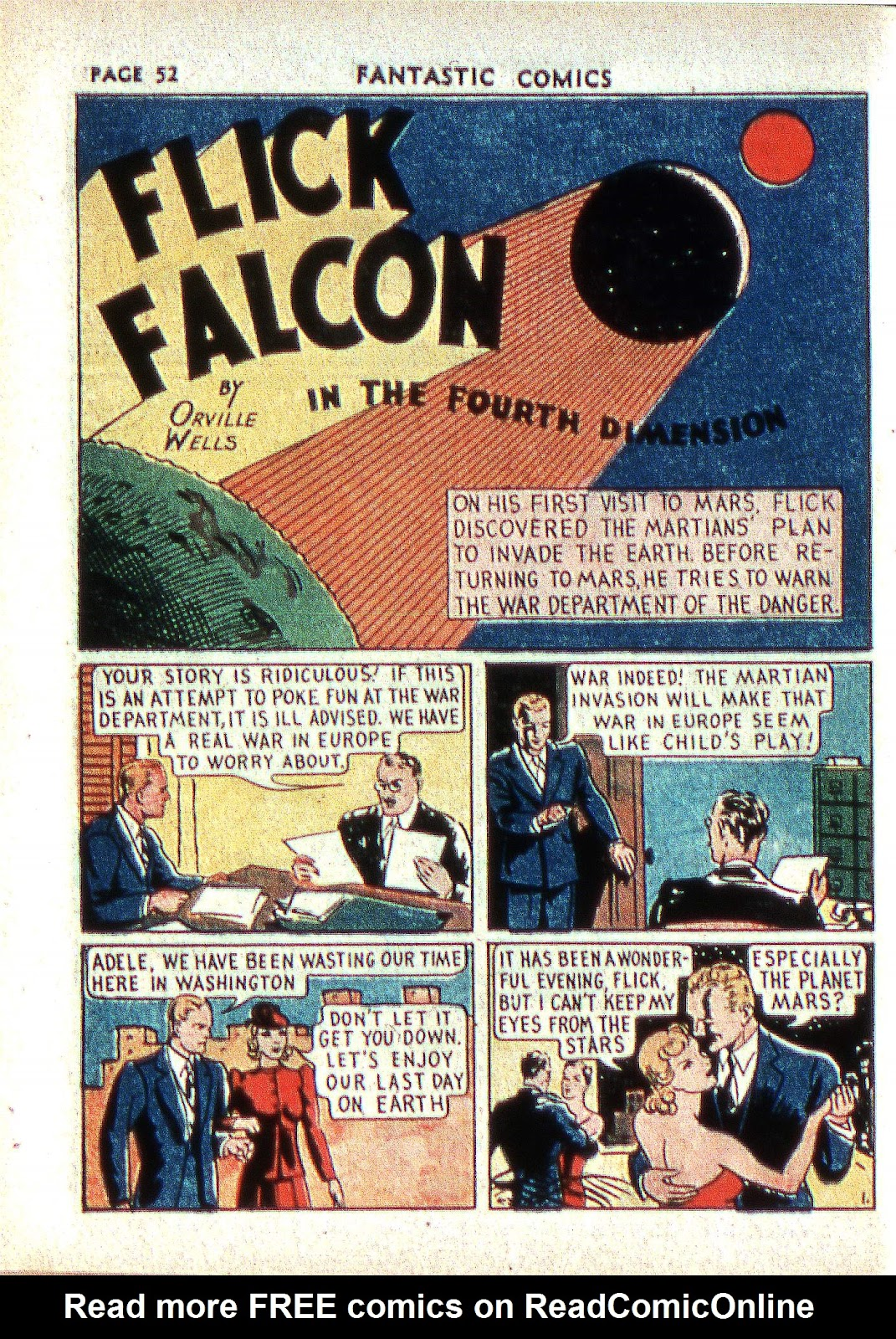 Read online Fantastic Comics comic -  Issue #2 - 53