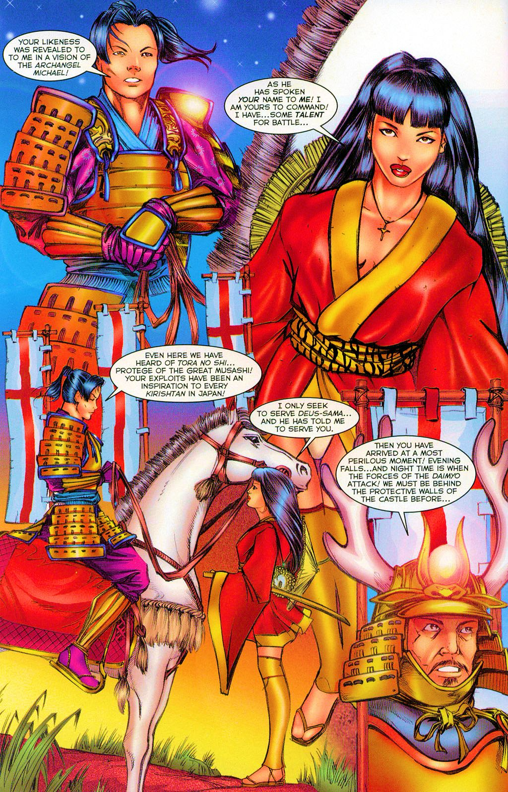 Read online Shi: Heaven And Earth comic -  Issue #2 - 5