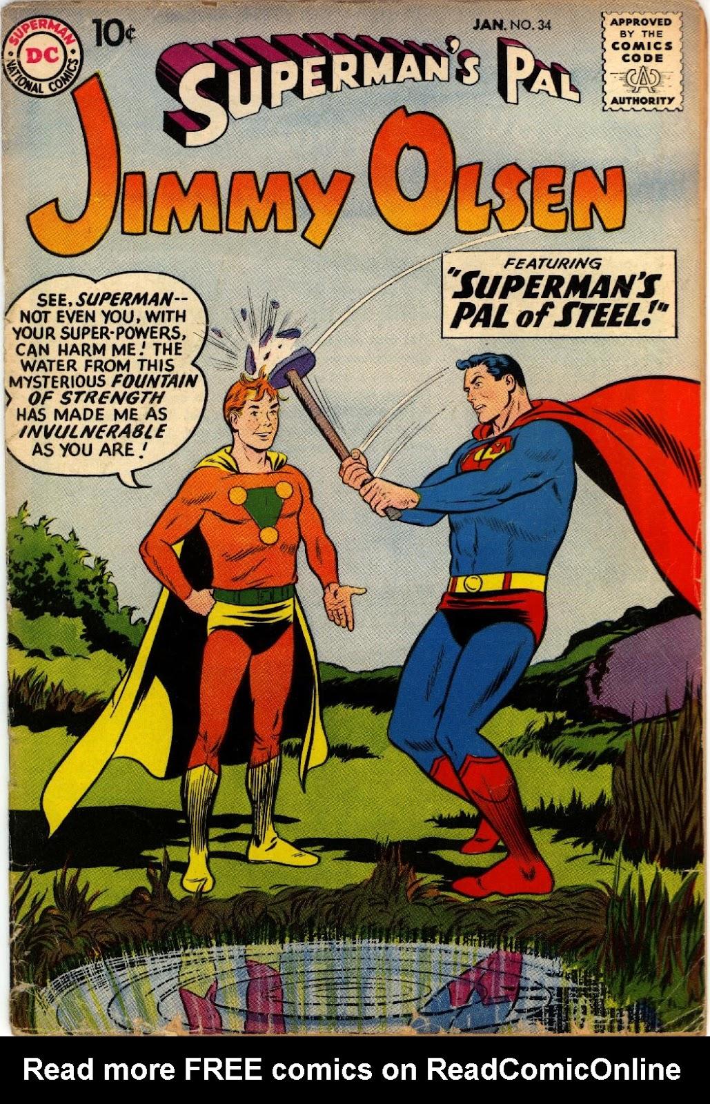 Supermans Pal Jimmy Olsen (1954) 34 Page 1