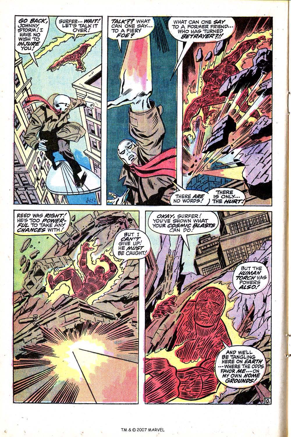 Read online Silver Surfer (1968) comic -  Issue #15 - 16