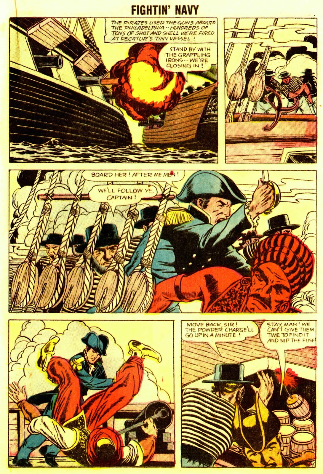 Read online Fightin' Navy comic -  Issue #83 - 31
