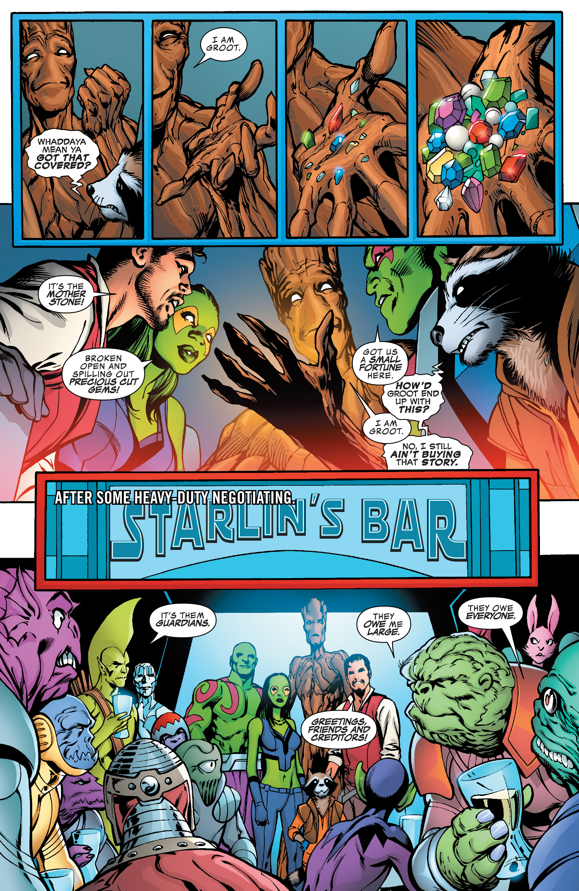 Read online Guardians of the Galaxy: Mother Entropy comic -  Issue #5 - 19