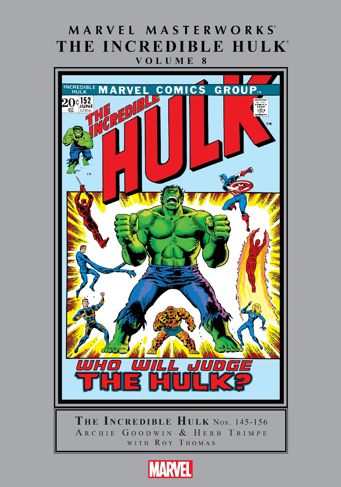 Read online Marvel Masterworks: The Incredible Hulk comic -  Issue # TPB 8 (Part 1) - 1