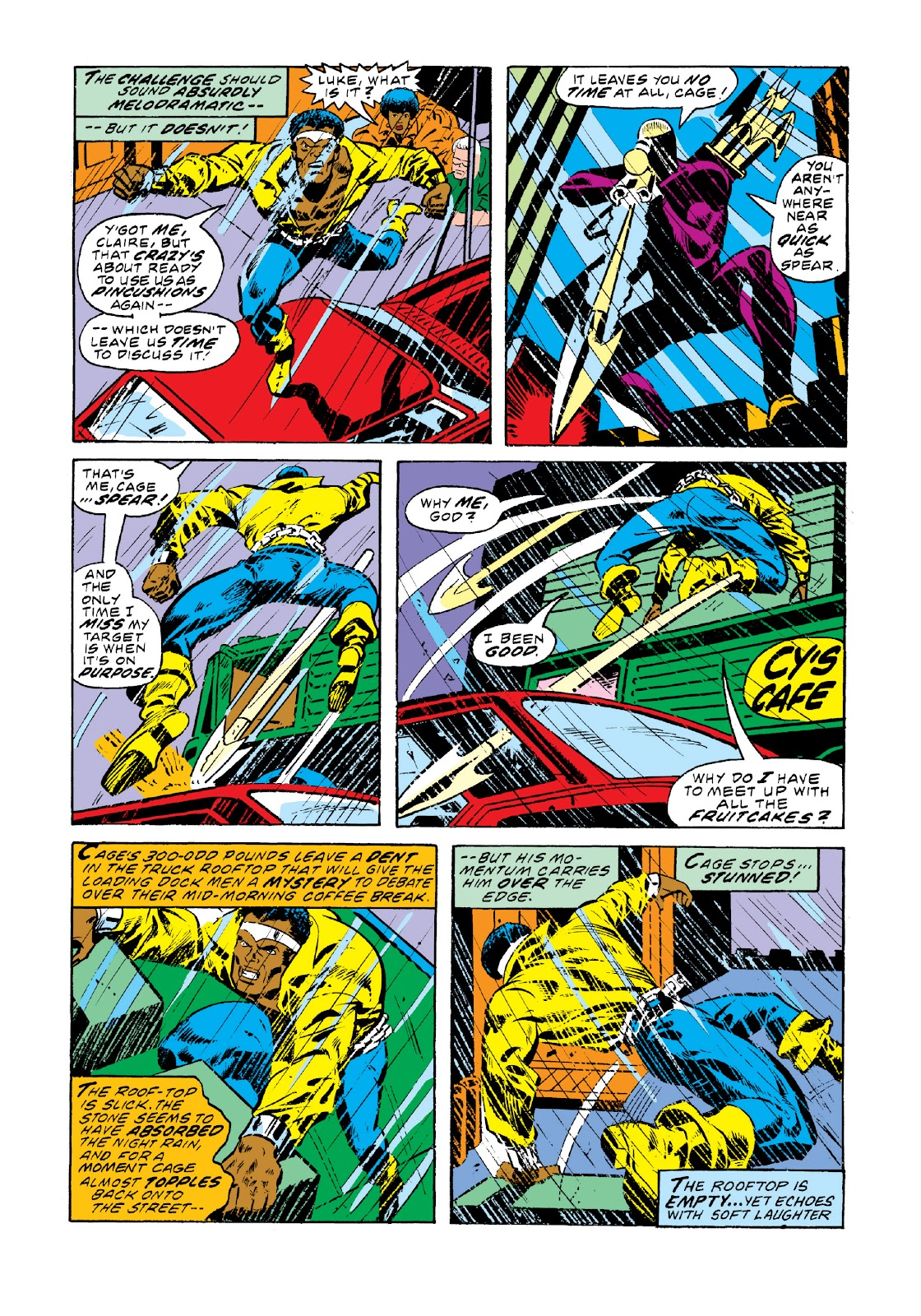 Read online Marvel Masterworks: Luke Cage, Power Man comic -  Issue # TPB 3 (Part 1) - 30