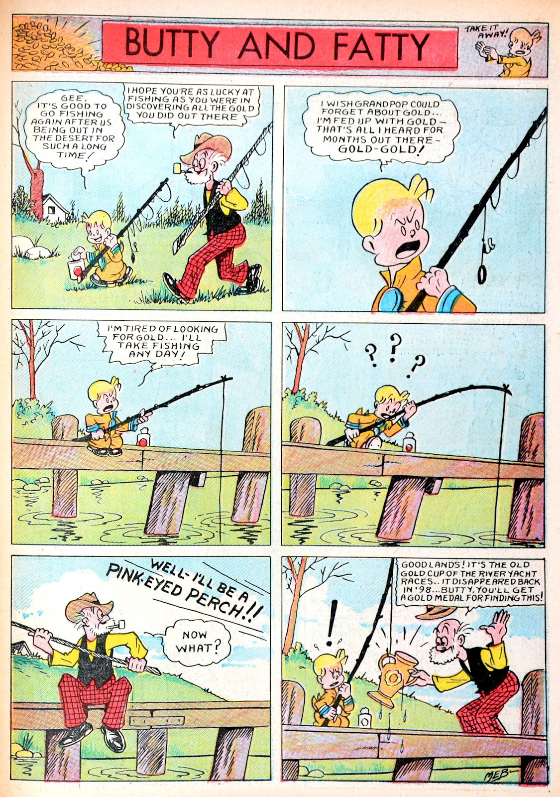 Read online Famous Funnies comic -  Issue #13 - 60