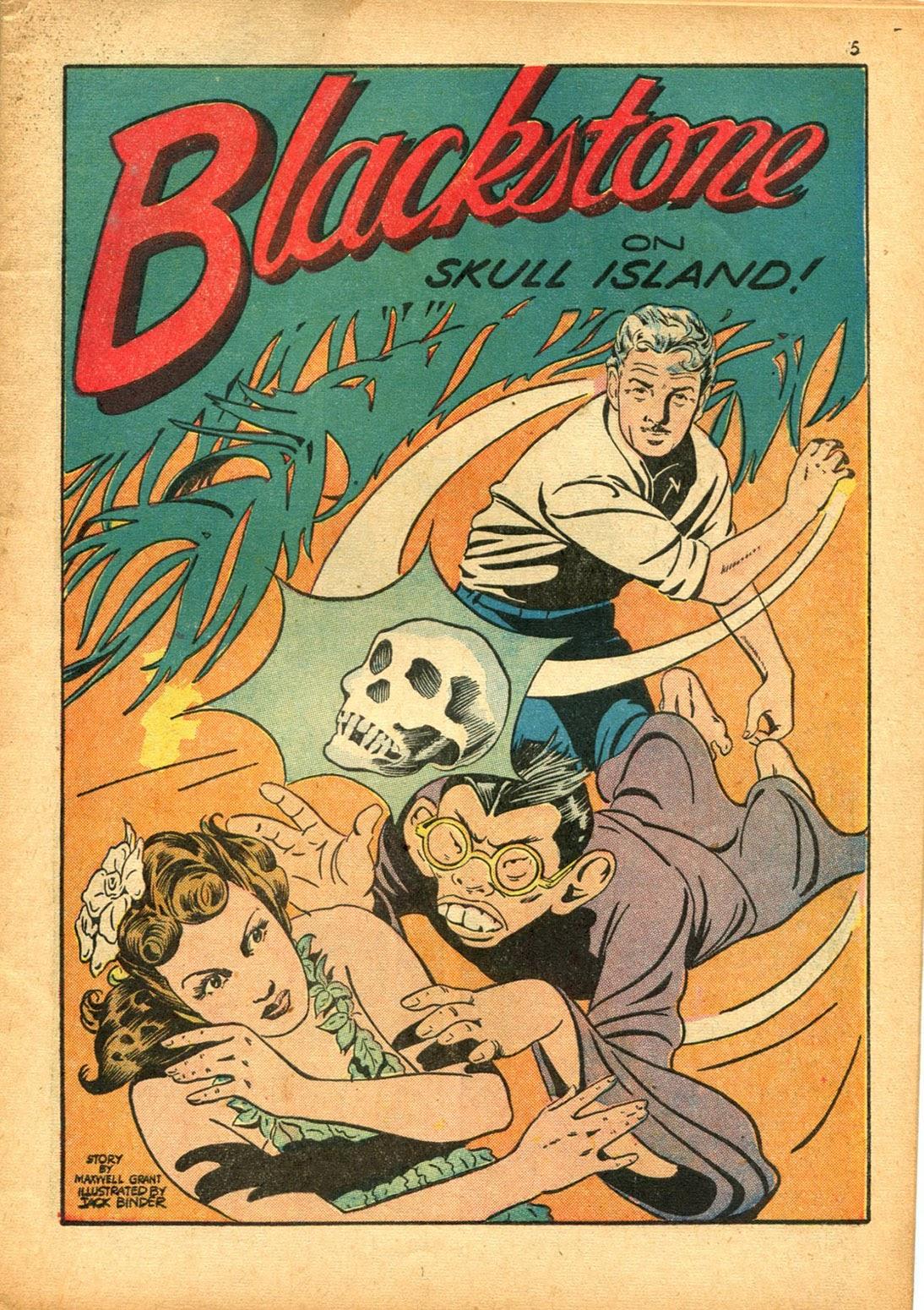 Read online Super-Magician Comics comic -  Issue #15 - 5