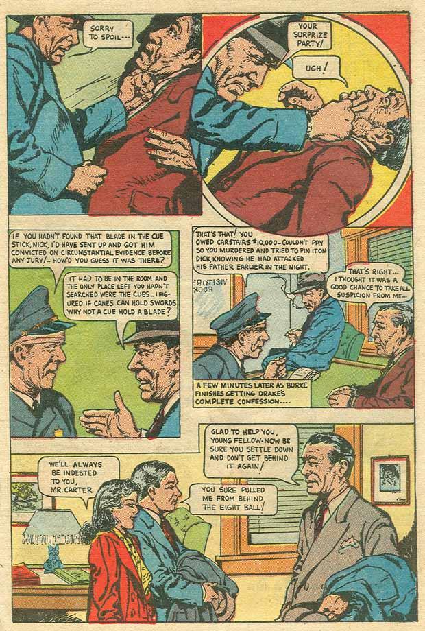 Read online Shadow Comics comic -  Issue #79 - 35