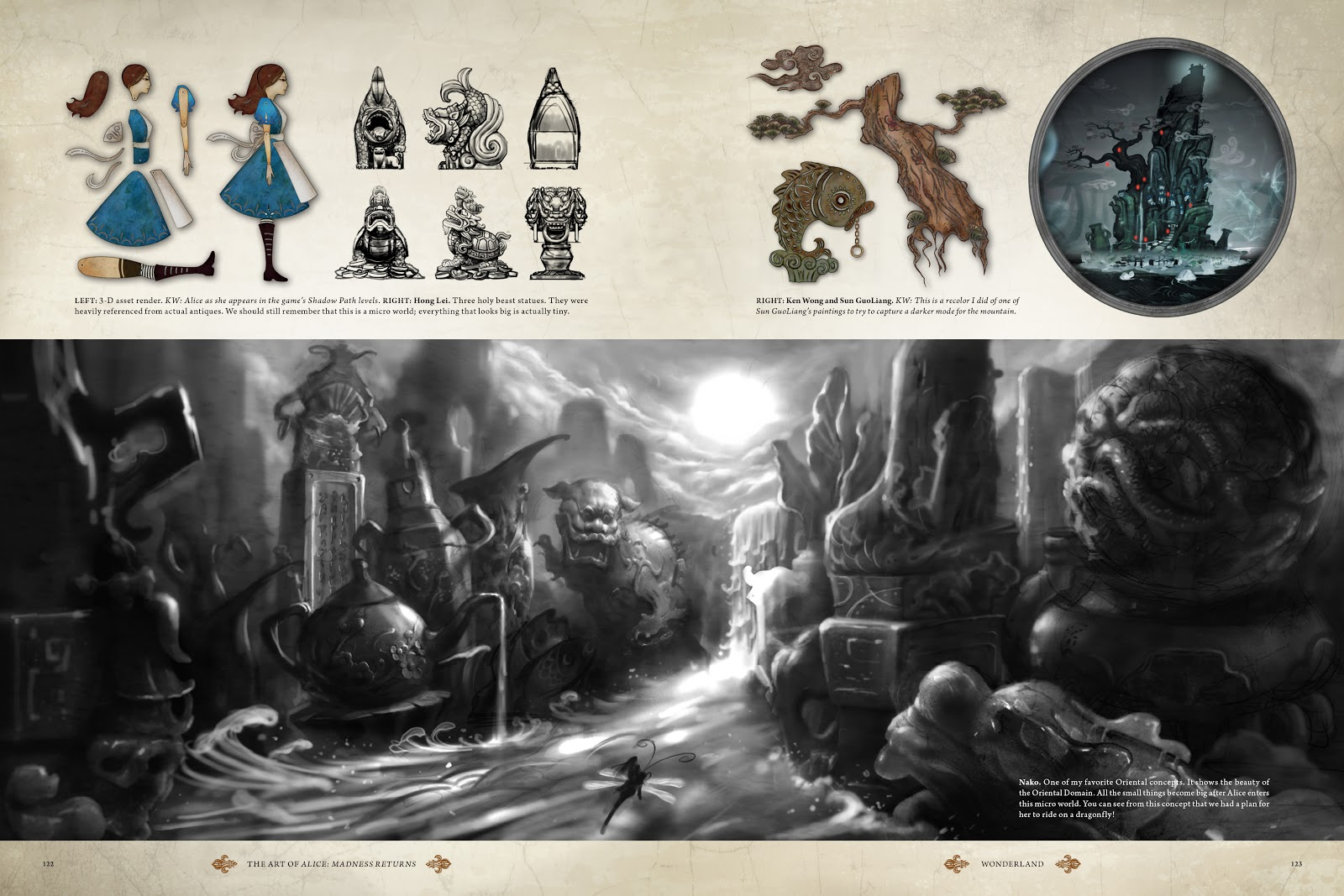 Read online The Art of Alice: Madness Returns comic -  Issue # TPB (Part 2) - 19