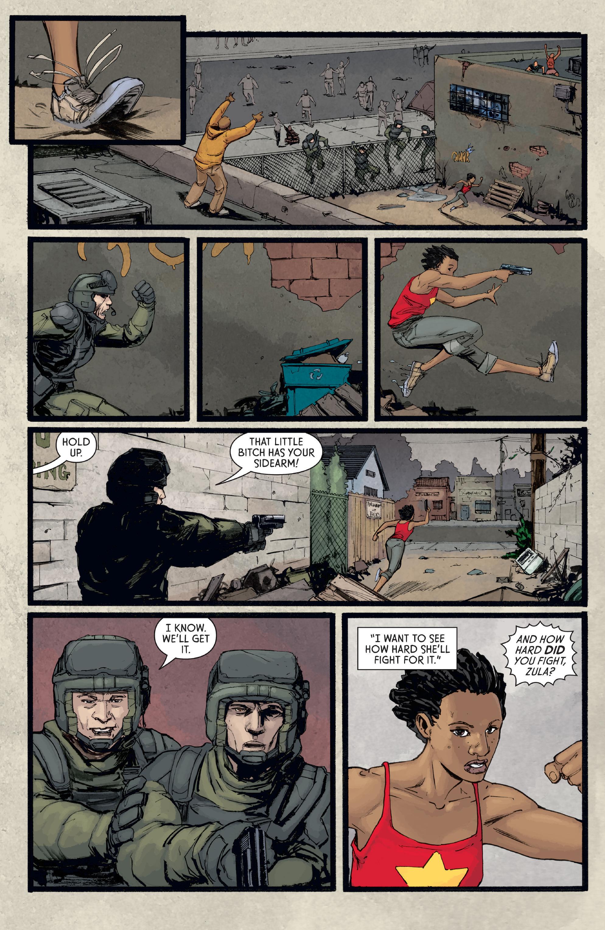 Read online Aliens: Defiance comic -  Issue #8 - 14