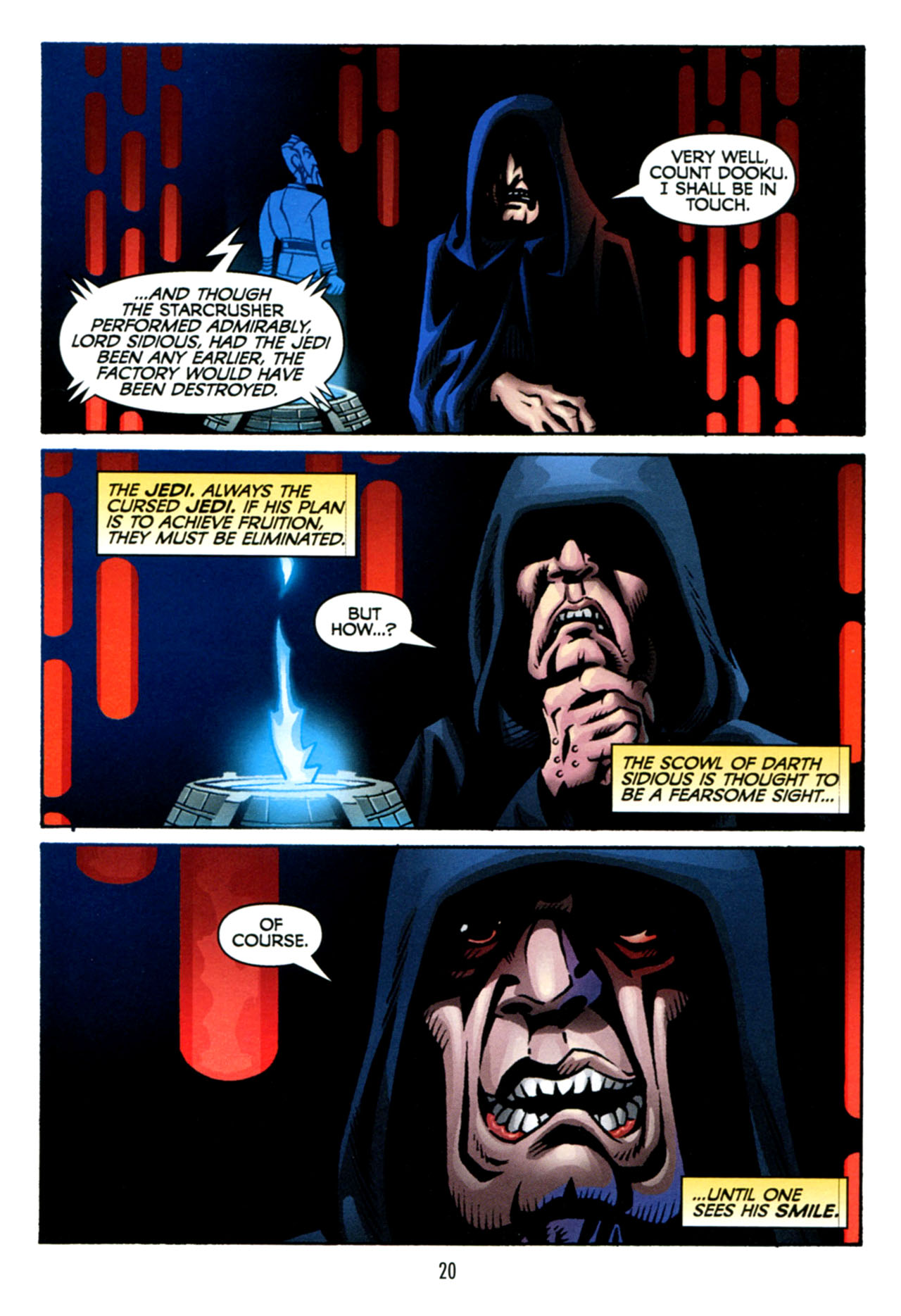 Read online Star Wars: The Clone Wars - The Starcrusher Trap comic -  Issue # Full - 21