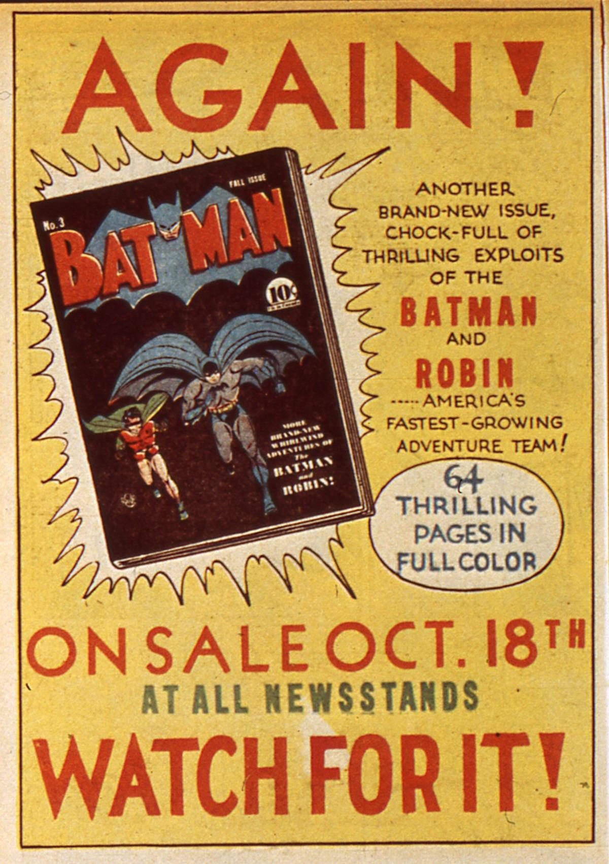 Read online Detective Comics (1937) comic -  Issue #45 - 16