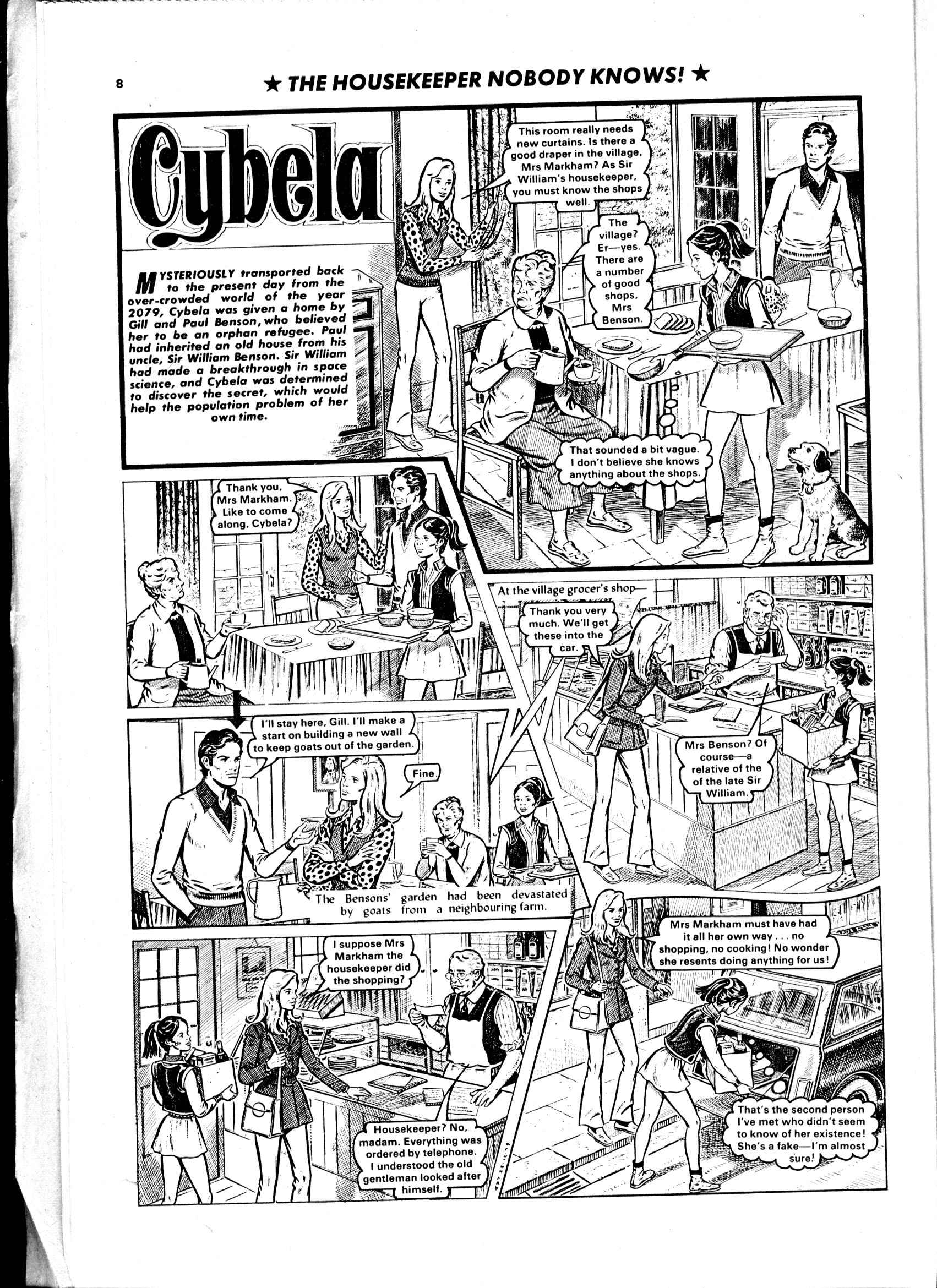Read online Judy comic -  Issue #1041 - 8
