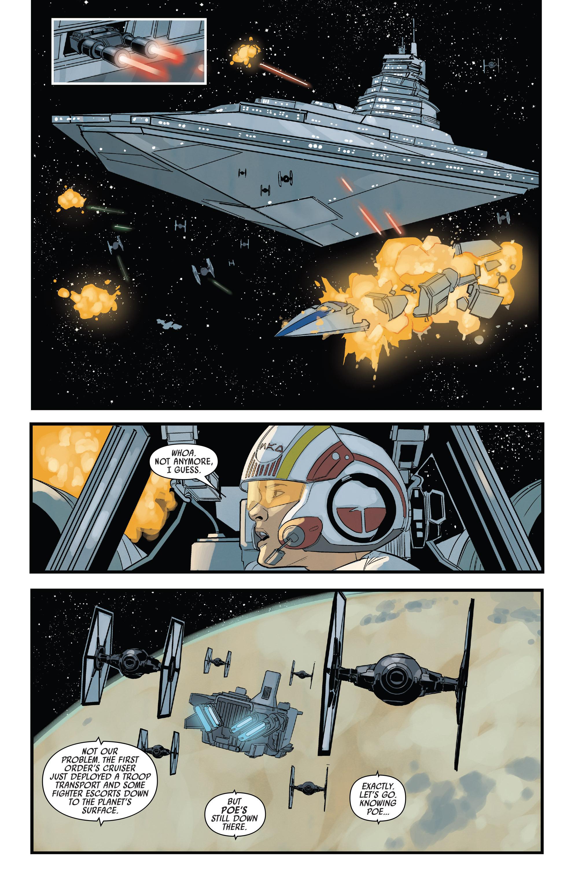 Read online Star Wars: Poe Dameron comic -  Issue #13 - 19