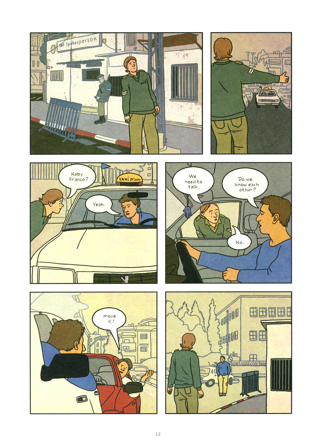 Read online Exit Wounds comic -  Issue # TPB - 13