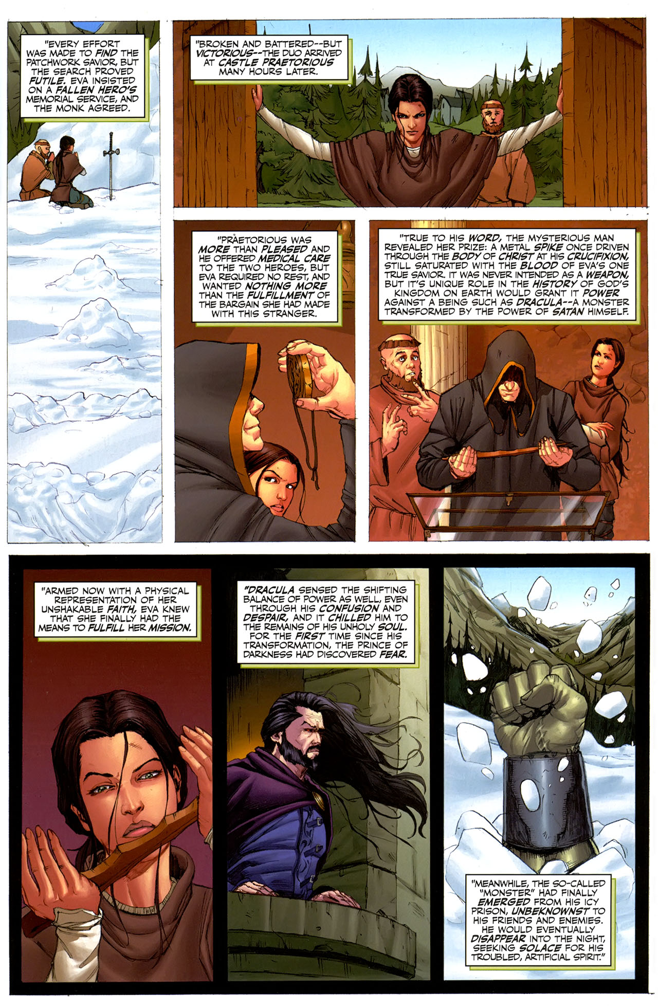Read online Eva: Daughter of the Dragon comic -  Issue # Full - 15