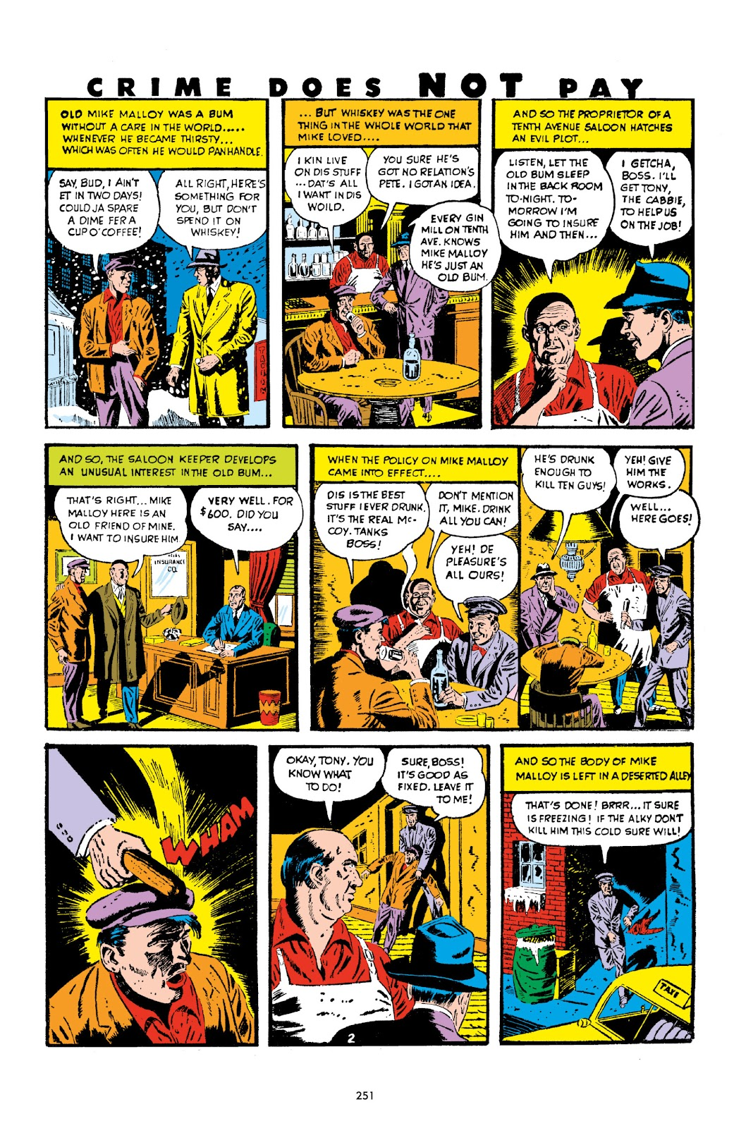 Read online Crime Does Not Pay Archives comic -  Issue # TPB 2 (Part 3) - 51