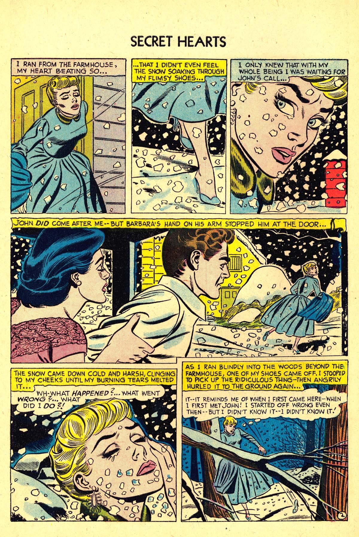 Read online Secret Hearts comic -  Issue #37 - 28
