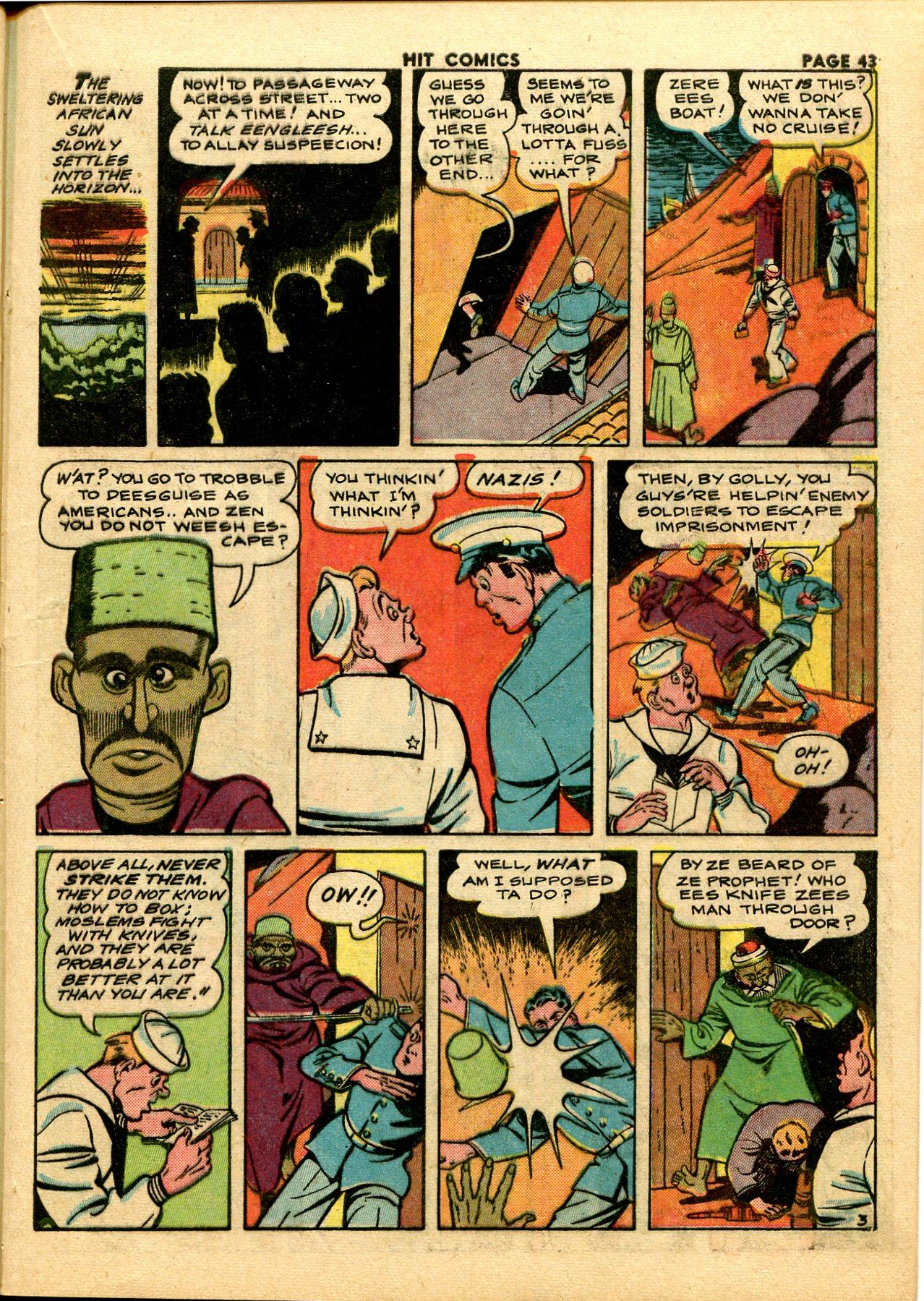 Read online Hit Comics comic -  Issue #28 - 46