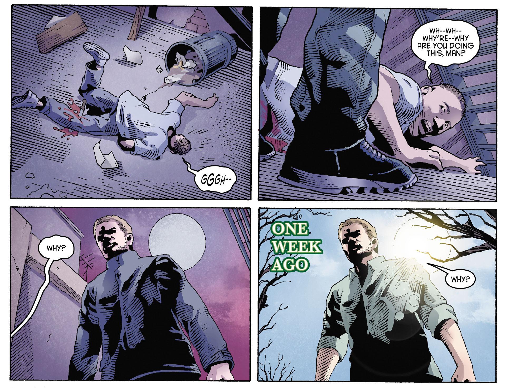 Read online Arrow [II] comic -  Issue #35 - 15