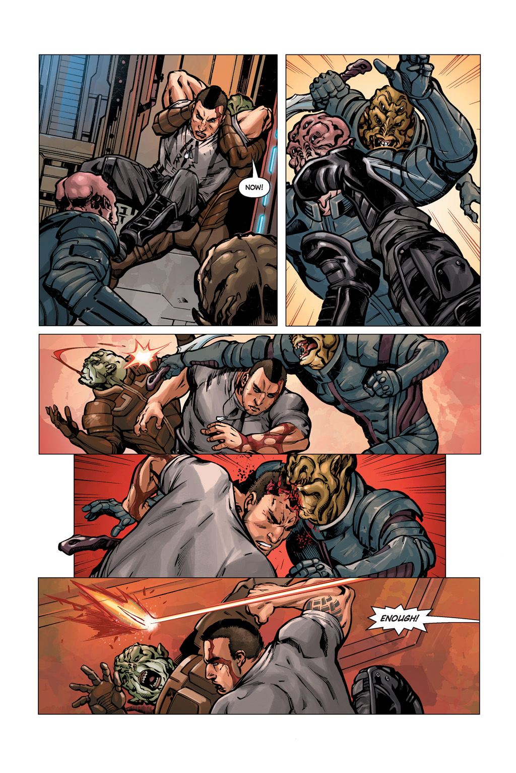 Read online Mass Effect: Conviction comic -  Issue # Full - 8