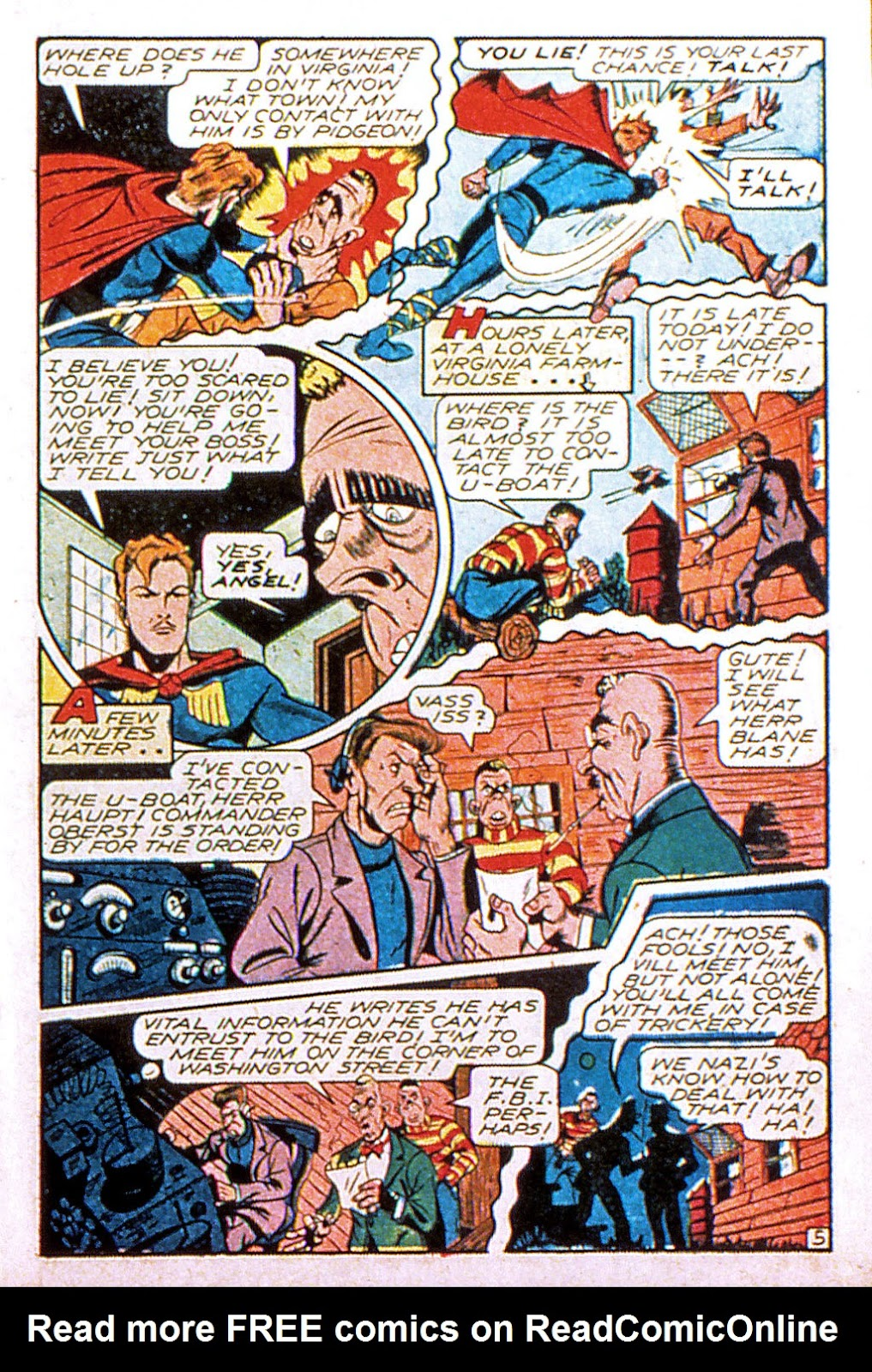 Read online Mystic Comics (1944) comic -  Issue #2 - 7