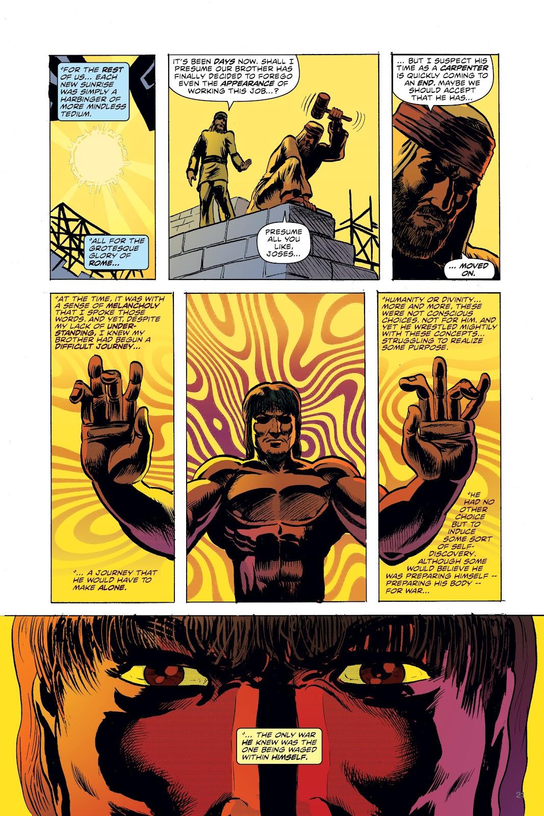 Read online Jesusfreak comic -  Issue # Full - 17