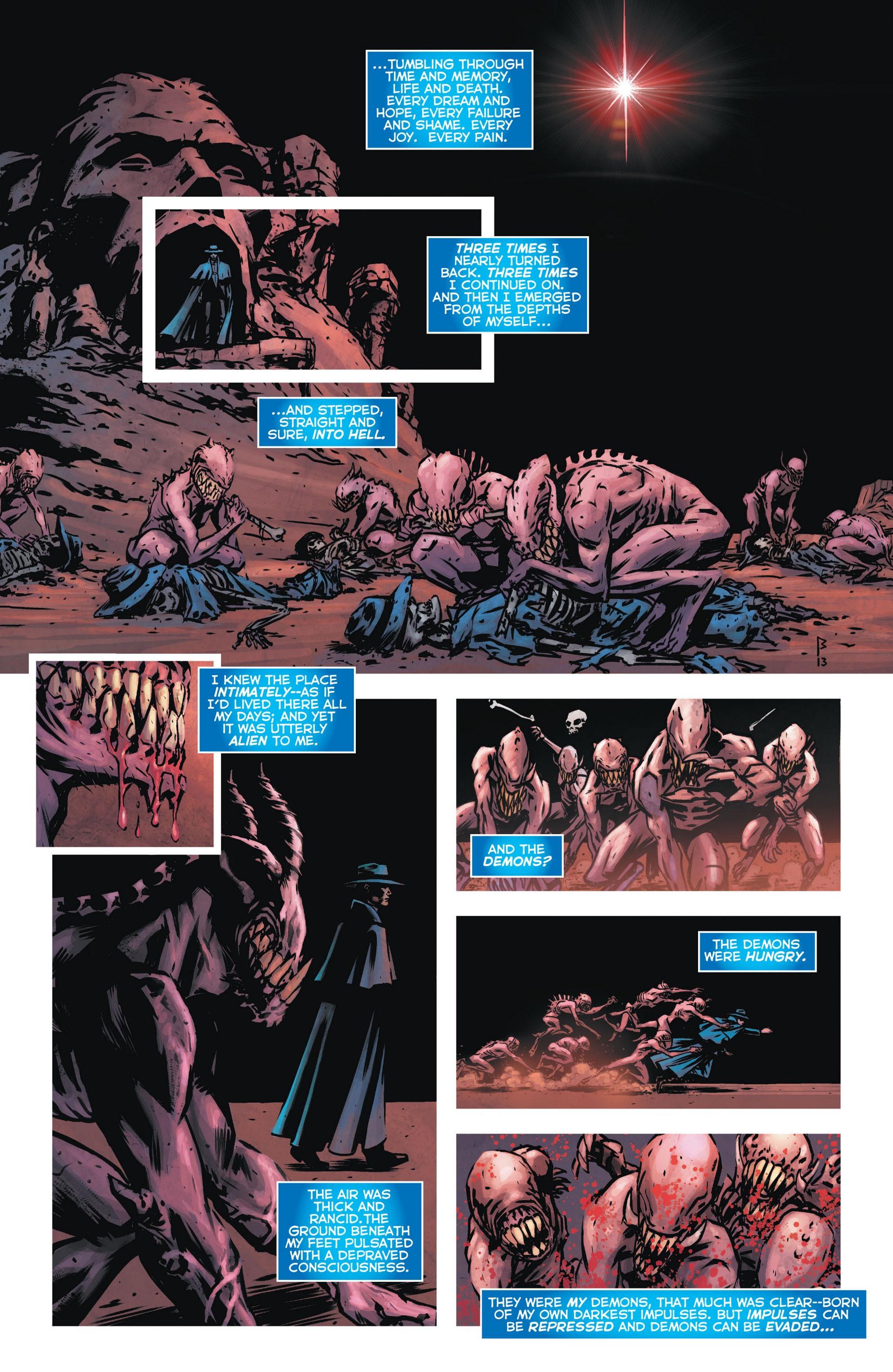 Read online Trinity of Sin: The Phantom Stranger comic -  Issue #9 - 9