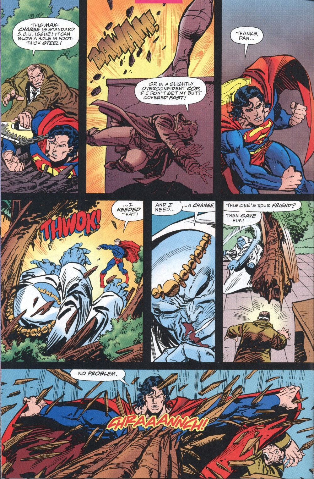 Read online Action Comics (1938) comic -  Issue #725 - 12