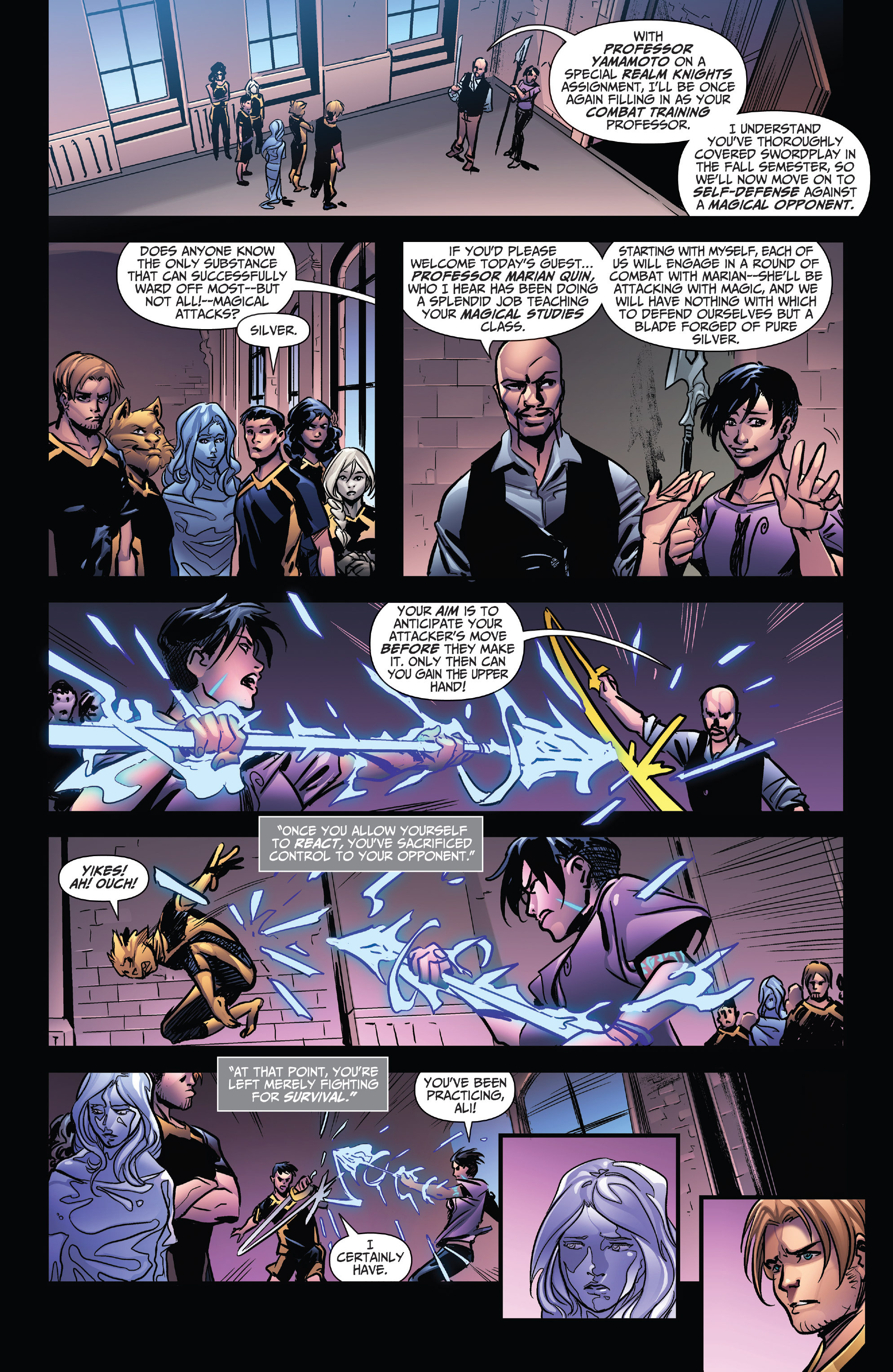 Read online Grimm Fairy Tales: Arcane Acre comic -  Issue # TPB 4 - 39