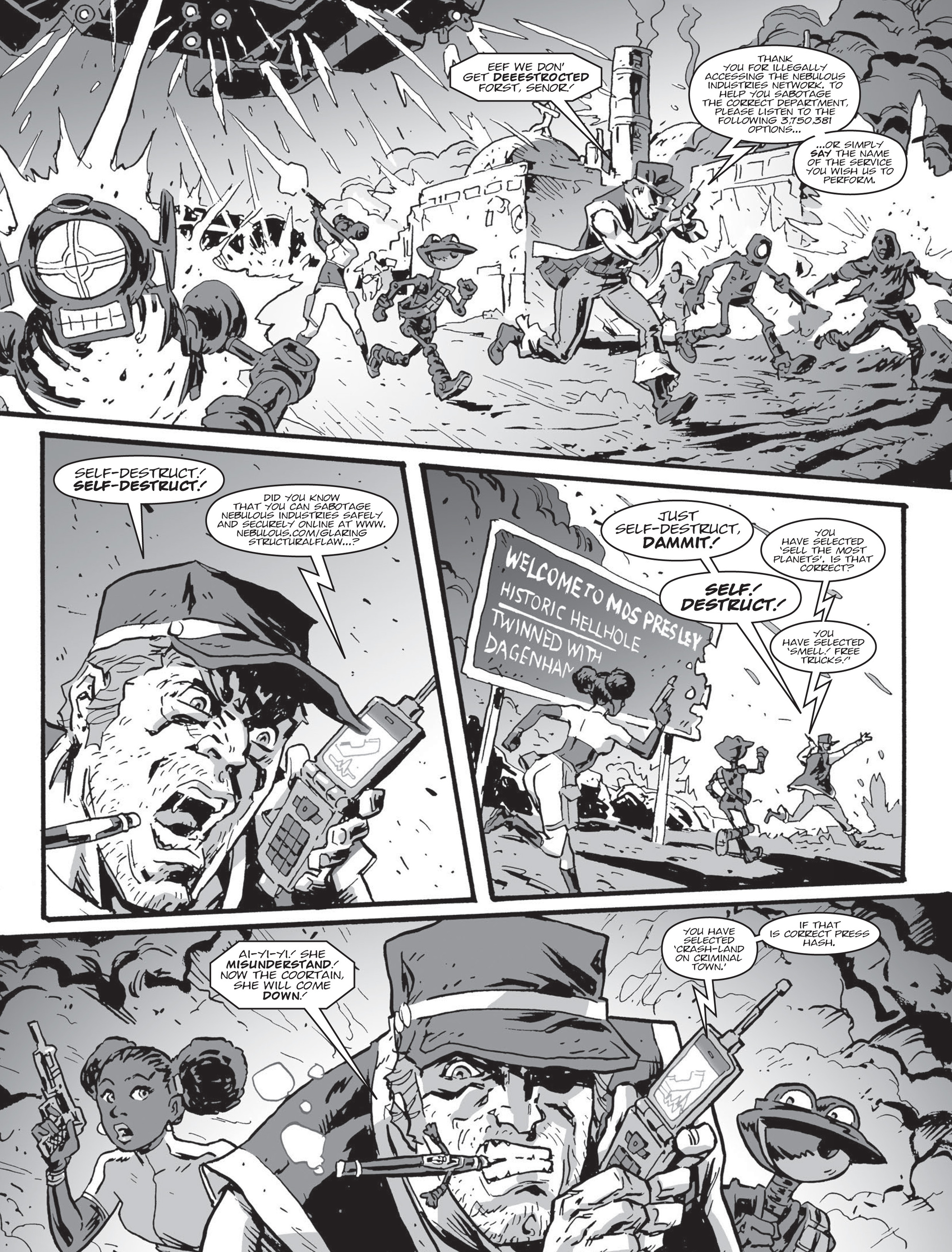 Read online 2000 AD comic -  Issue #2000 AD _Sci-Fi Special 2016 - 23