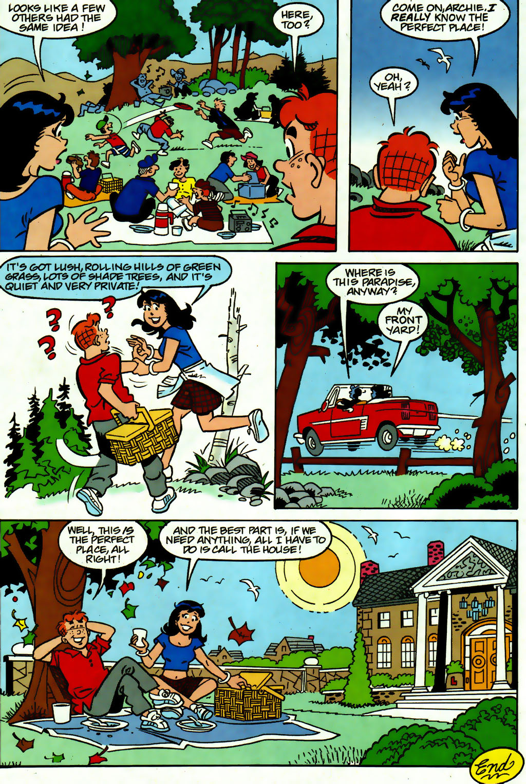 Read online Archie (1960) comic -  Issue #560 - 7