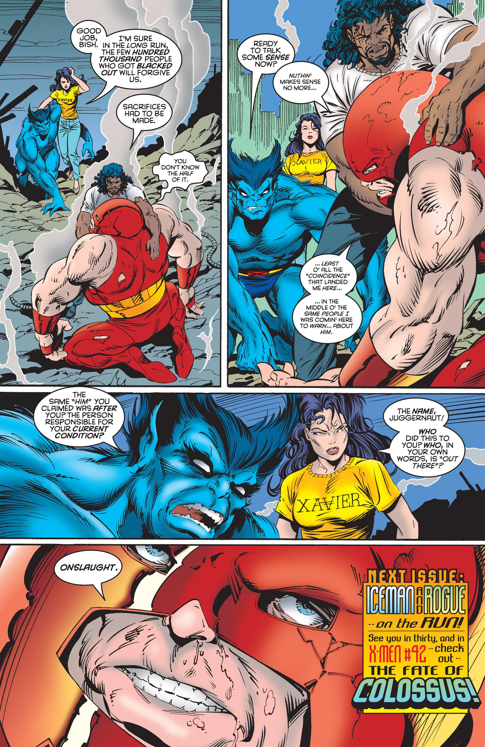 Read online Uncanny X-Men (1963) comic -  Issue #322 - 21
