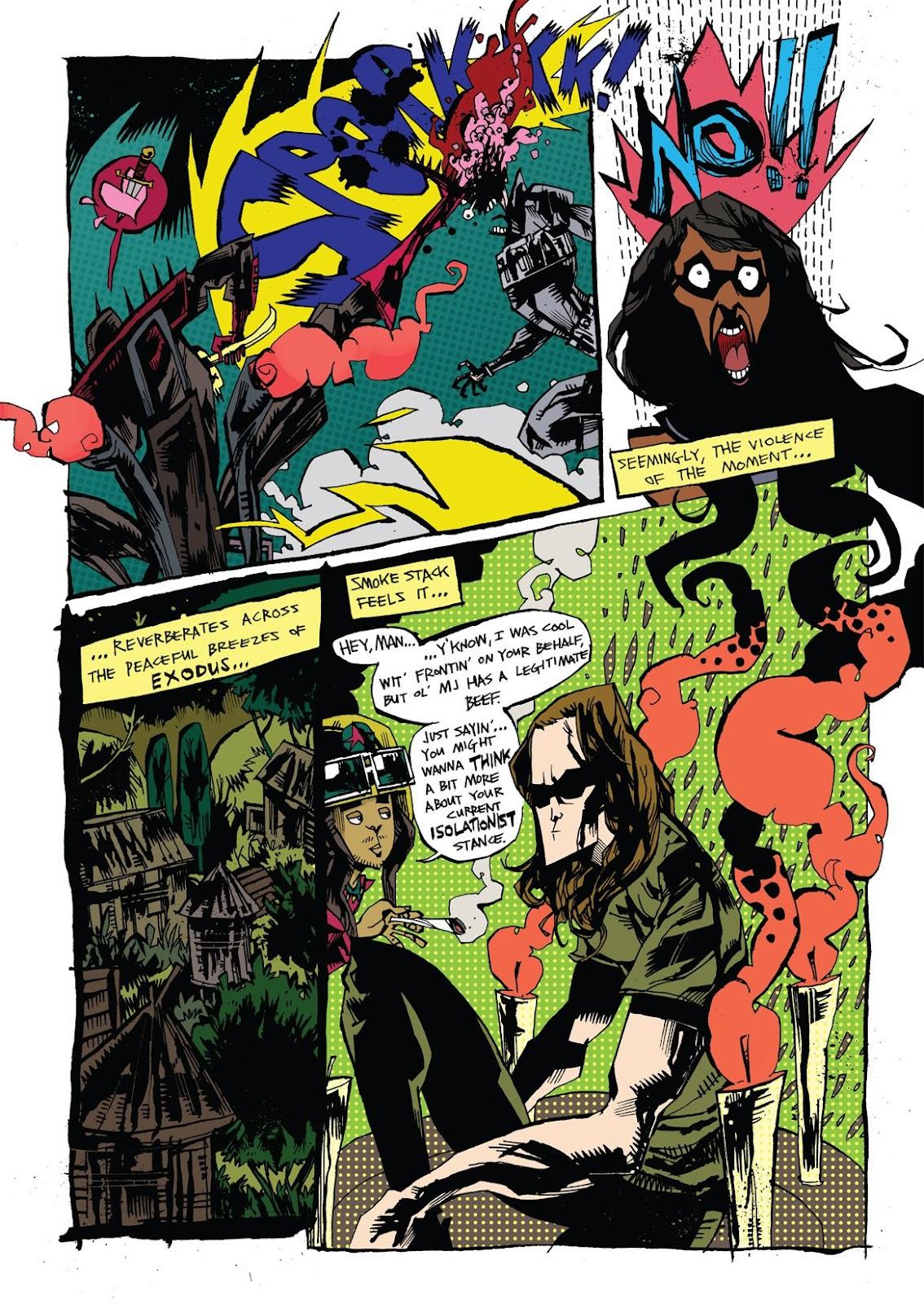 Read online Marijuanaman comic -  Issue # Full - 15