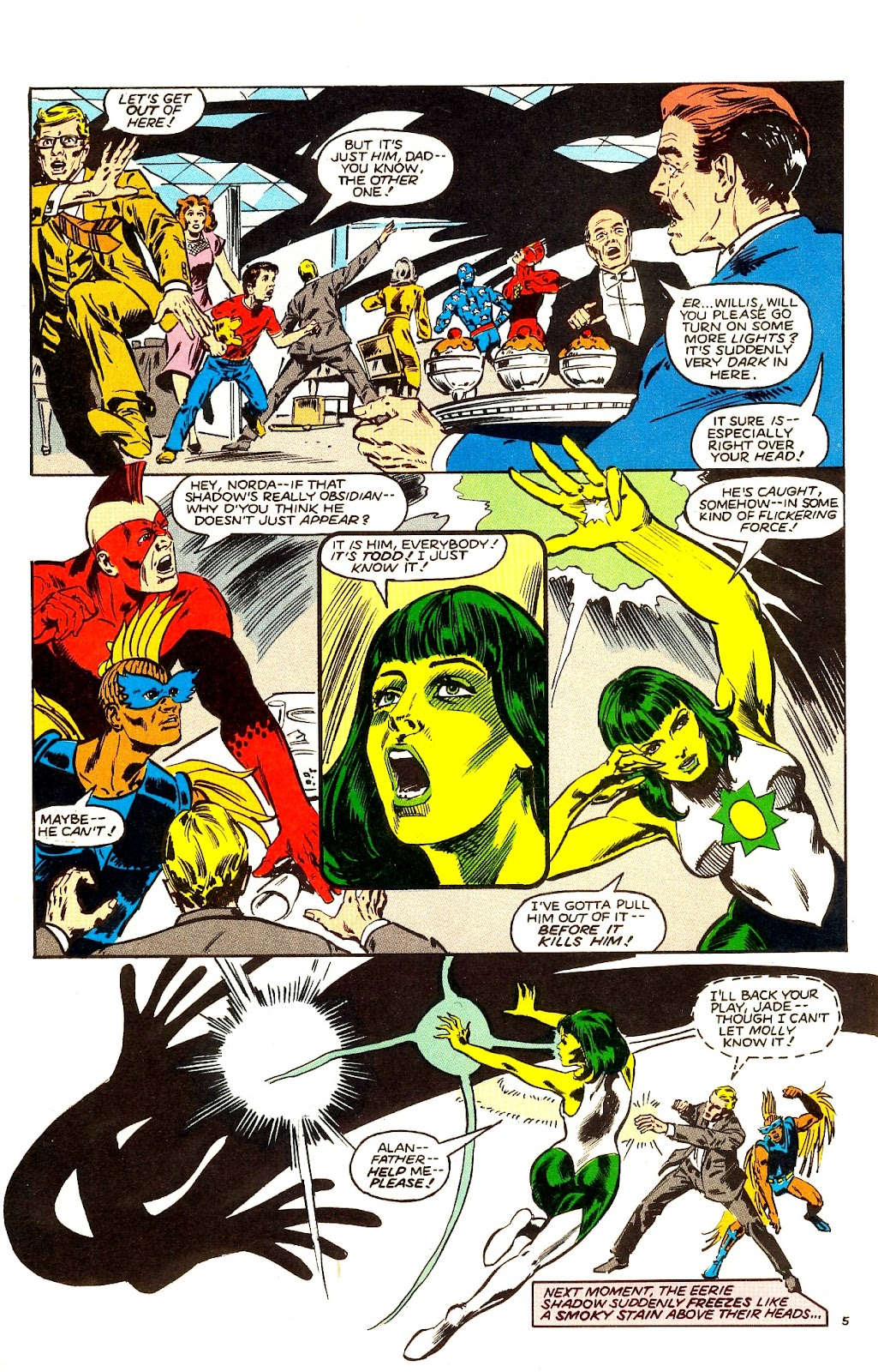 Infinity Inc. (1984) issue Annual 1 - Page 7