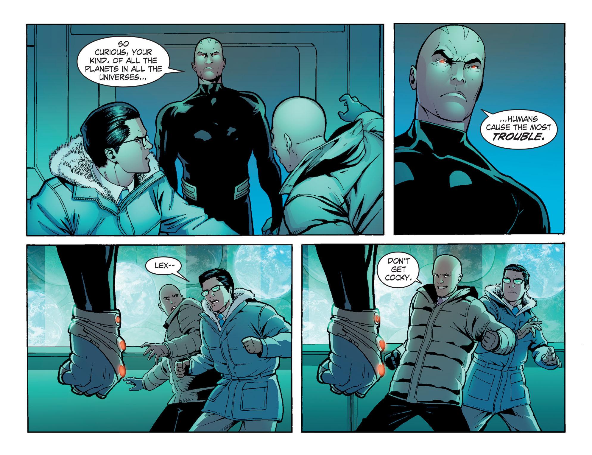 Read online Smallville: Alien comic -  Issue #8 - 21