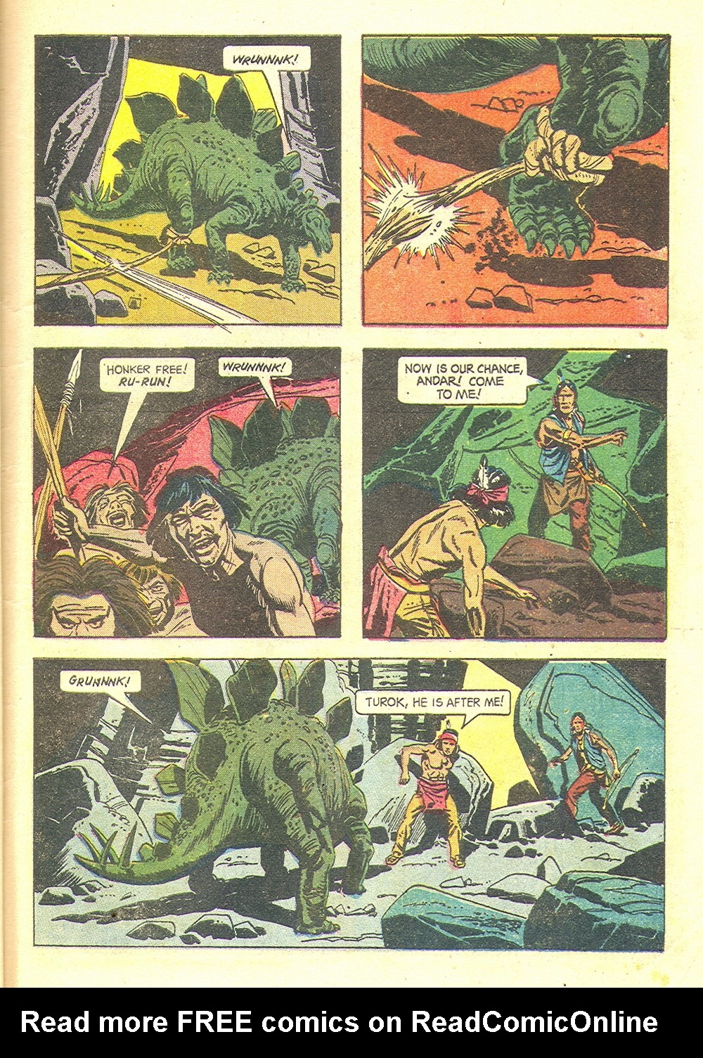 Read online Turok, Son of Stone comic -  Issue #35 - 33