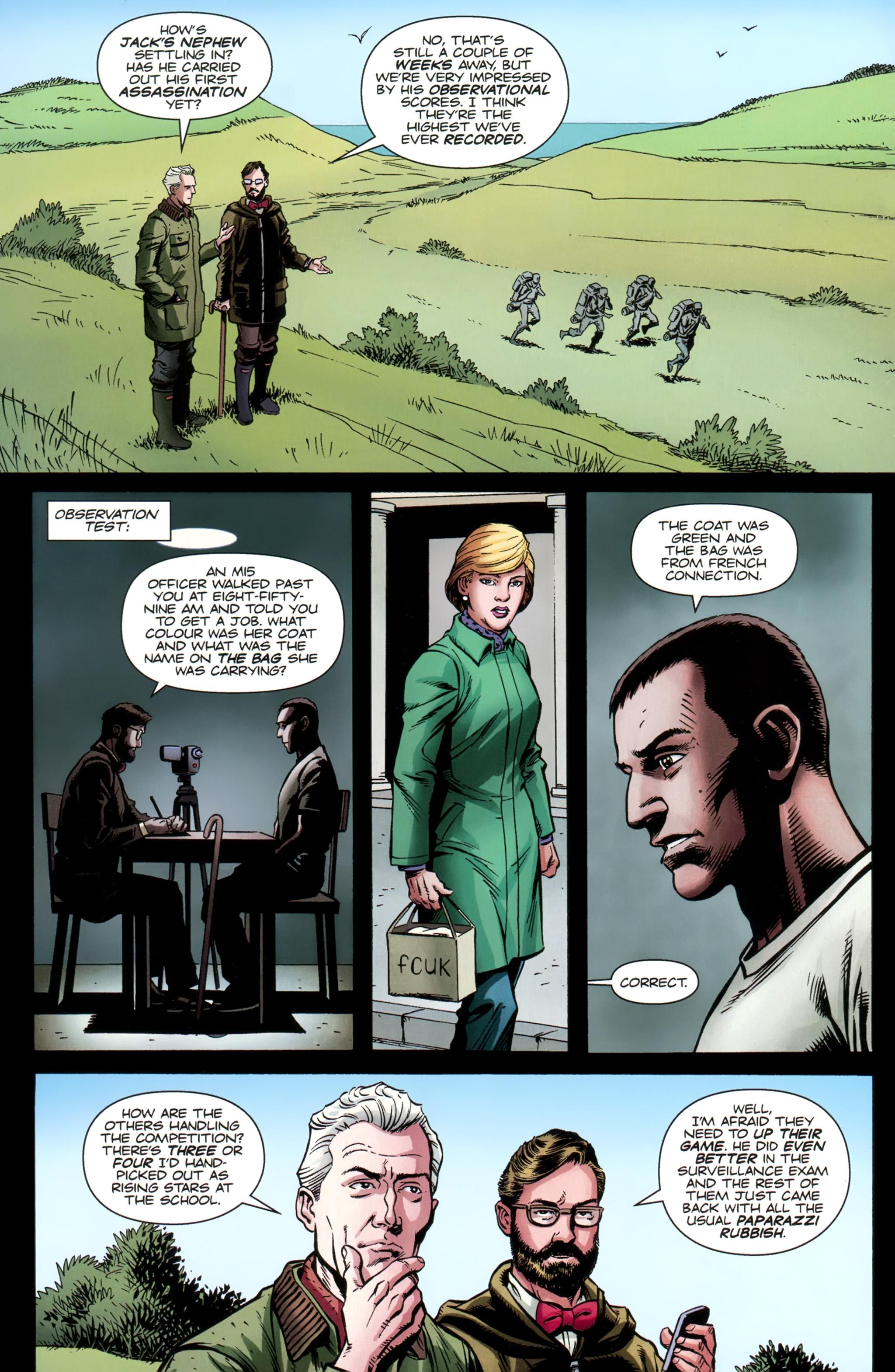 Read online Secret Service comic -  Issue #3 - 11