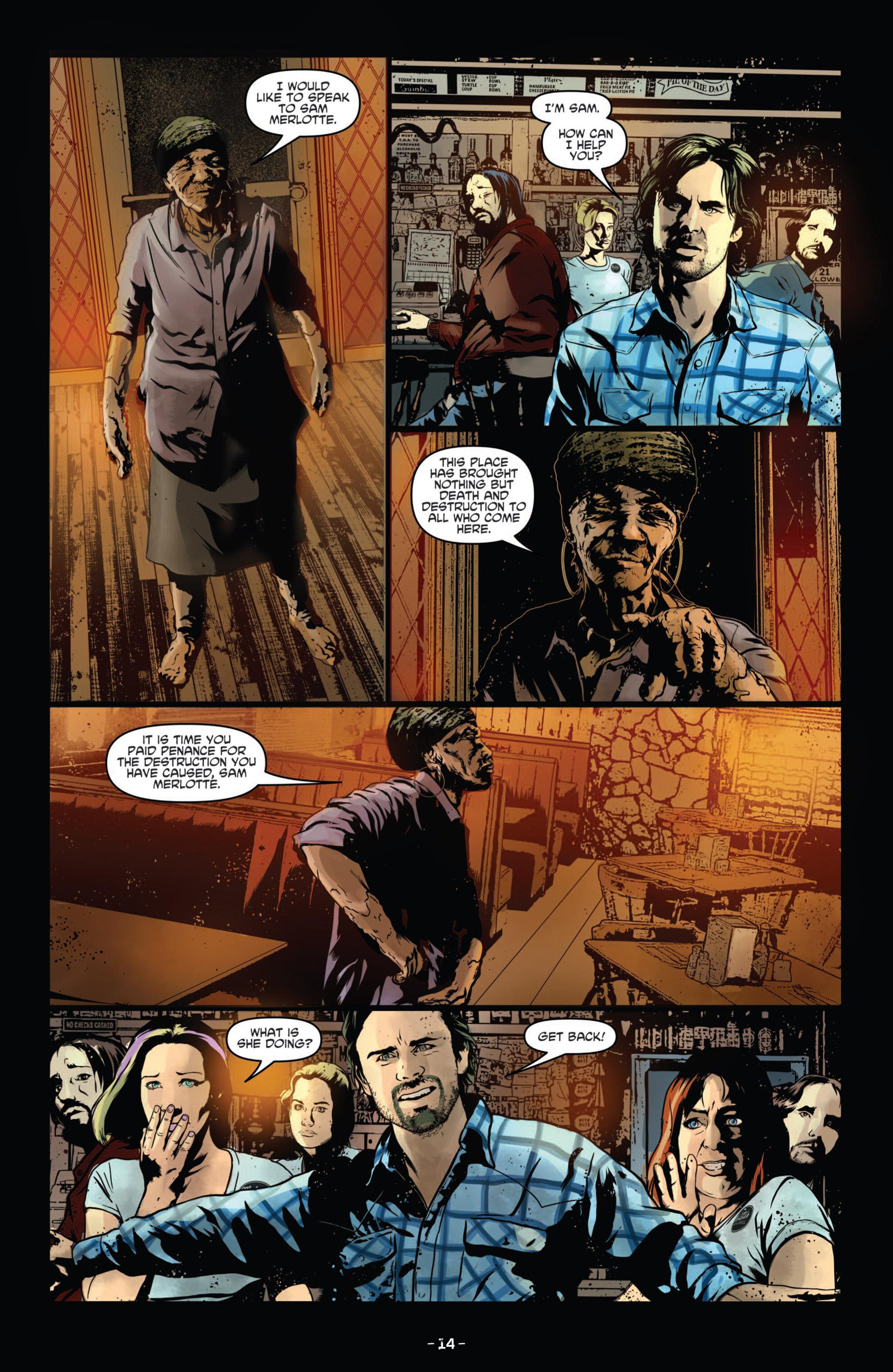 Read online True Blood (2012) comic -  Issue #11 - 17