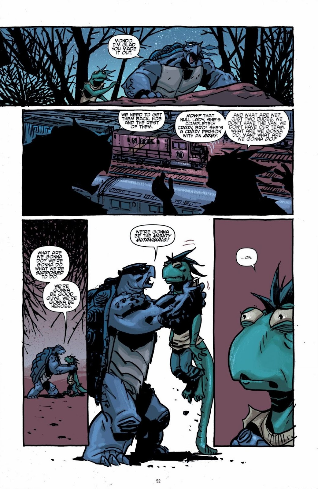 Read online Teenage Mutant Ninja Turtles: The IDW Collection comic -  Issue # TPB 6 (Part 1) - 51