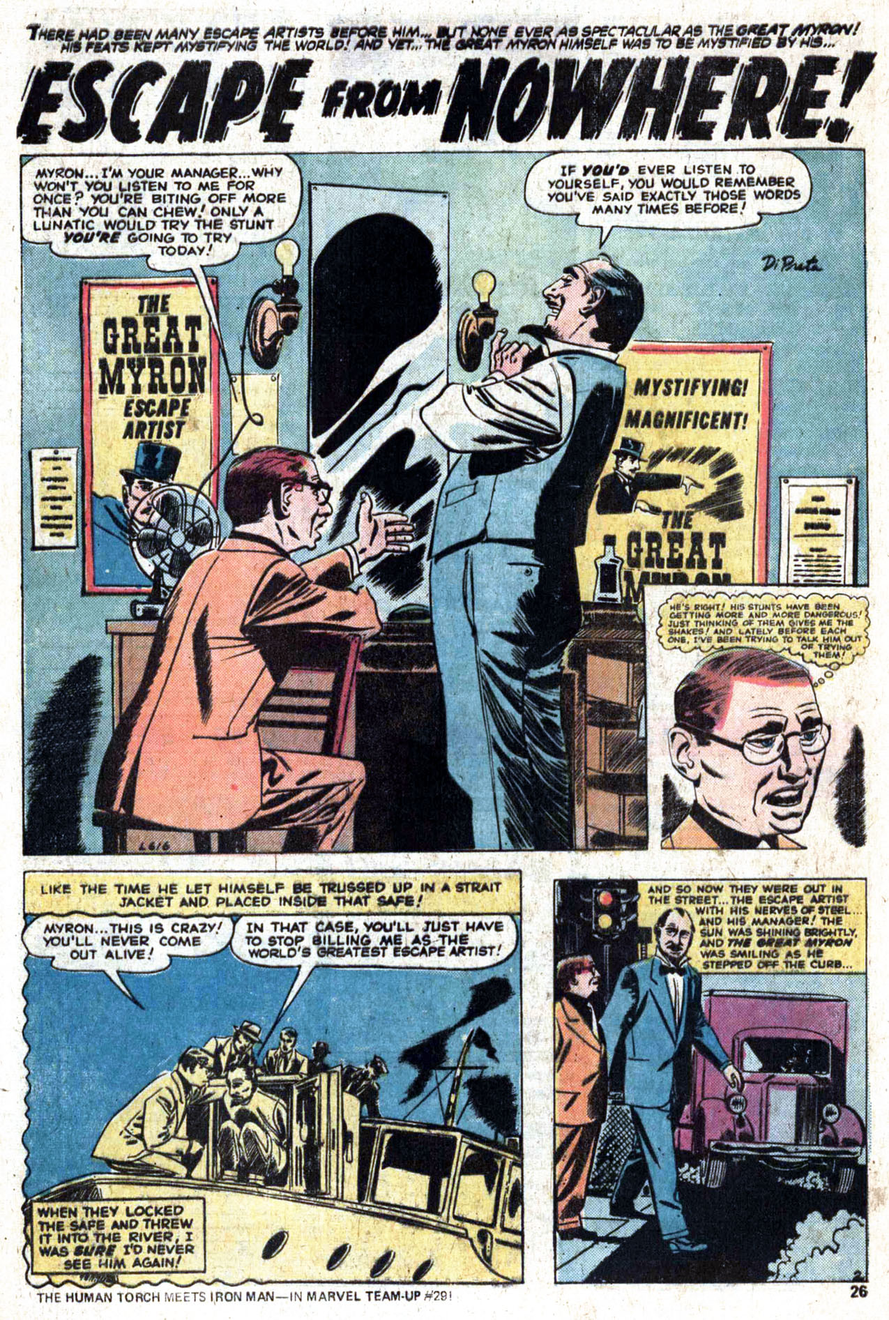 Read online Amazing Adventures (1970) comic -  Issue #28 - 27