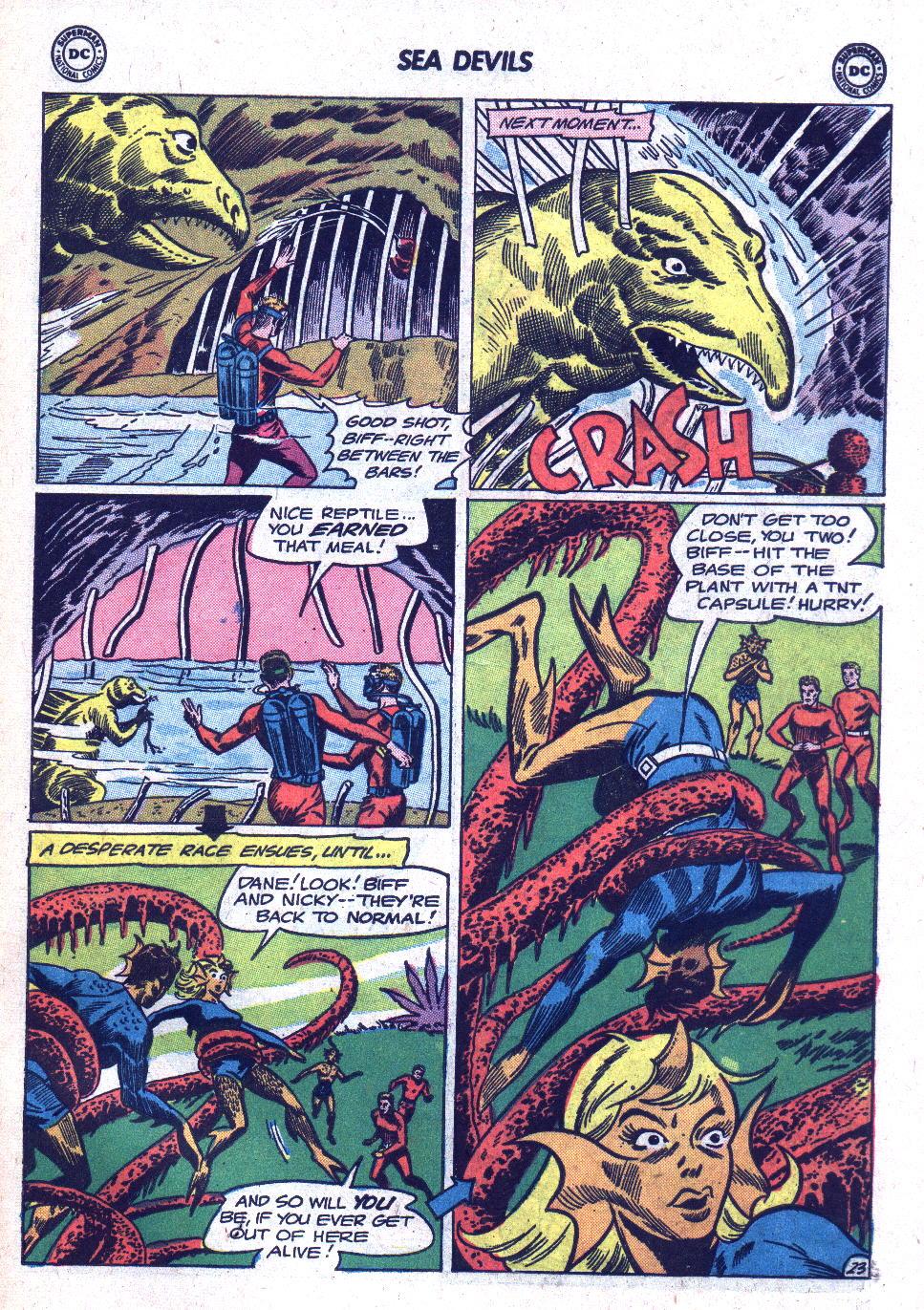 Read online Sea Devils comic -  Issue #18 - 31