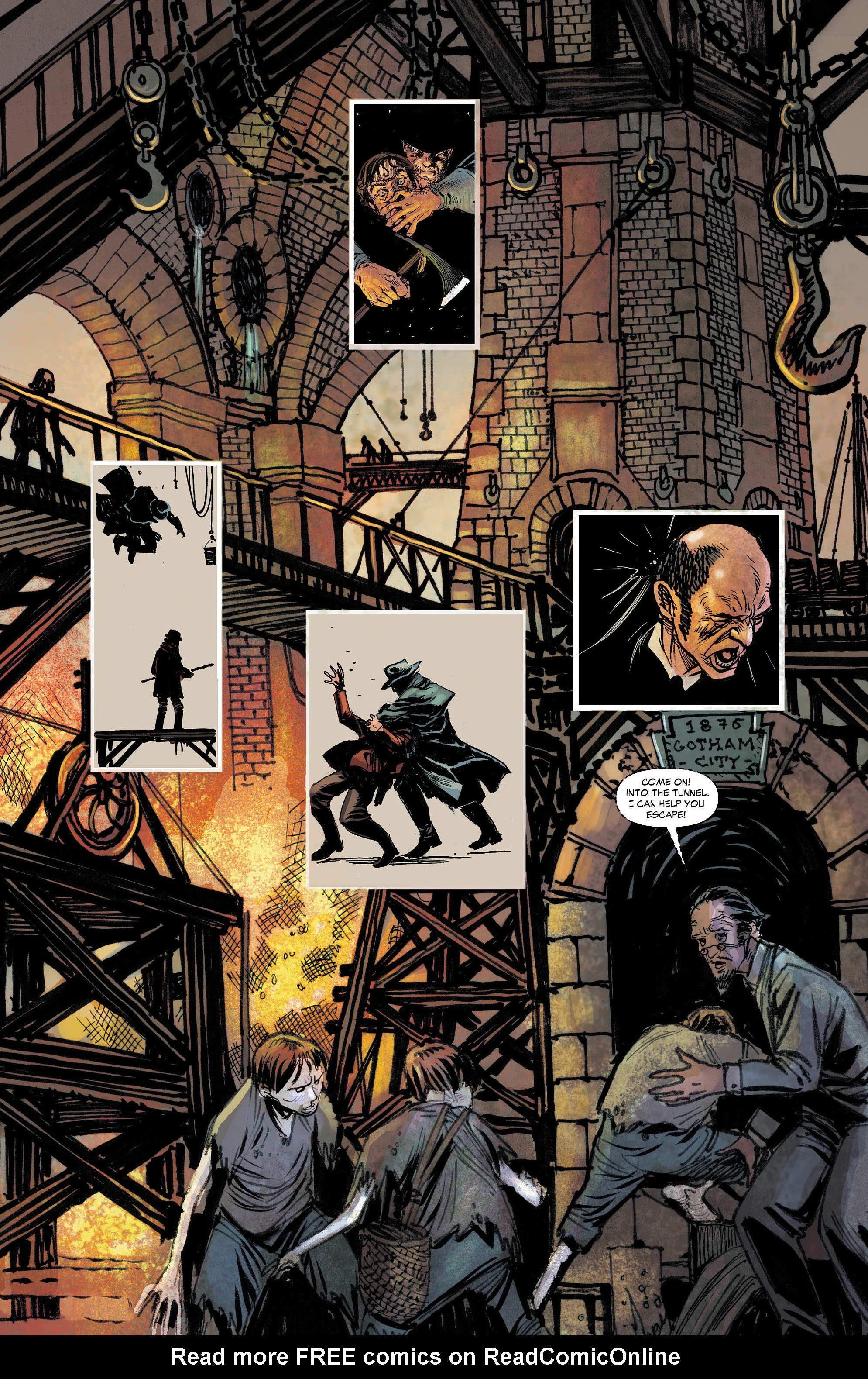 Read online All-Star Western (2011) comic -  Issue #4 - 18