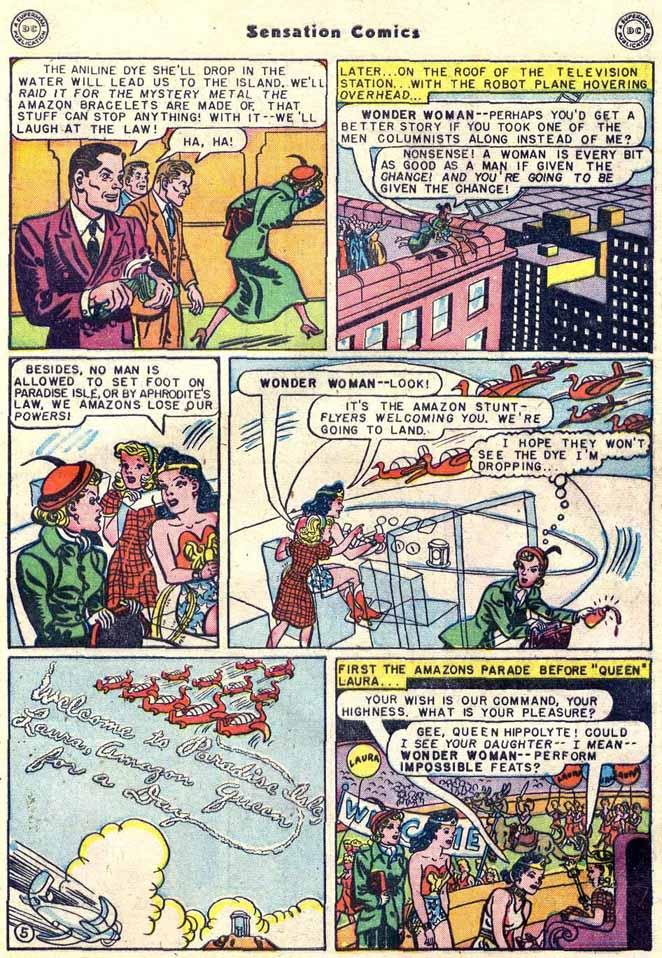 Read online Sensation (Mystery) Comics comic -  Issue #89 - 7